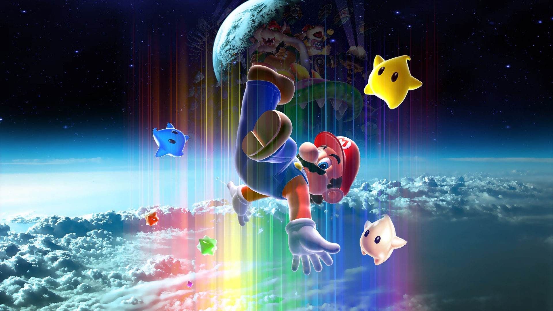 Wallpaper Super Mario, classic game, Nintendo 1920x1200 HD