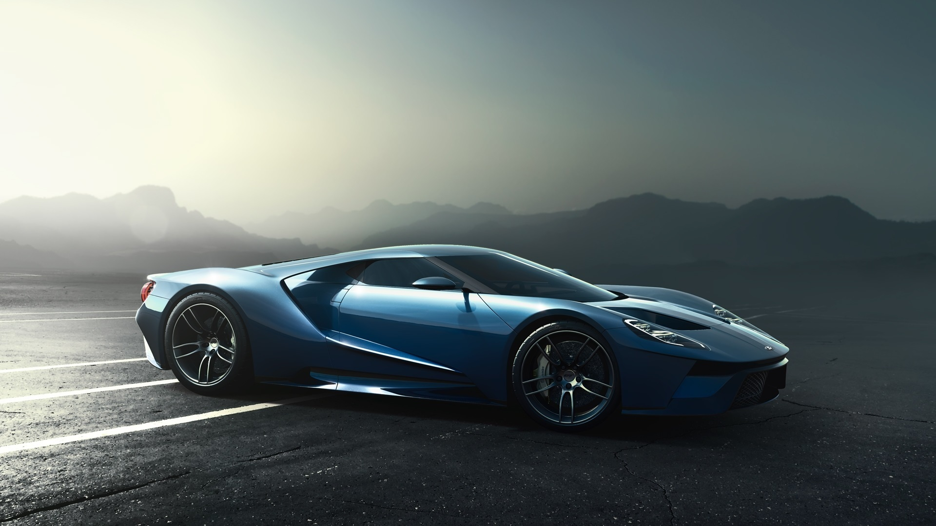 Fondos De Pantalla Ford Gt Supercar 2017 1920x1080 Full Hd