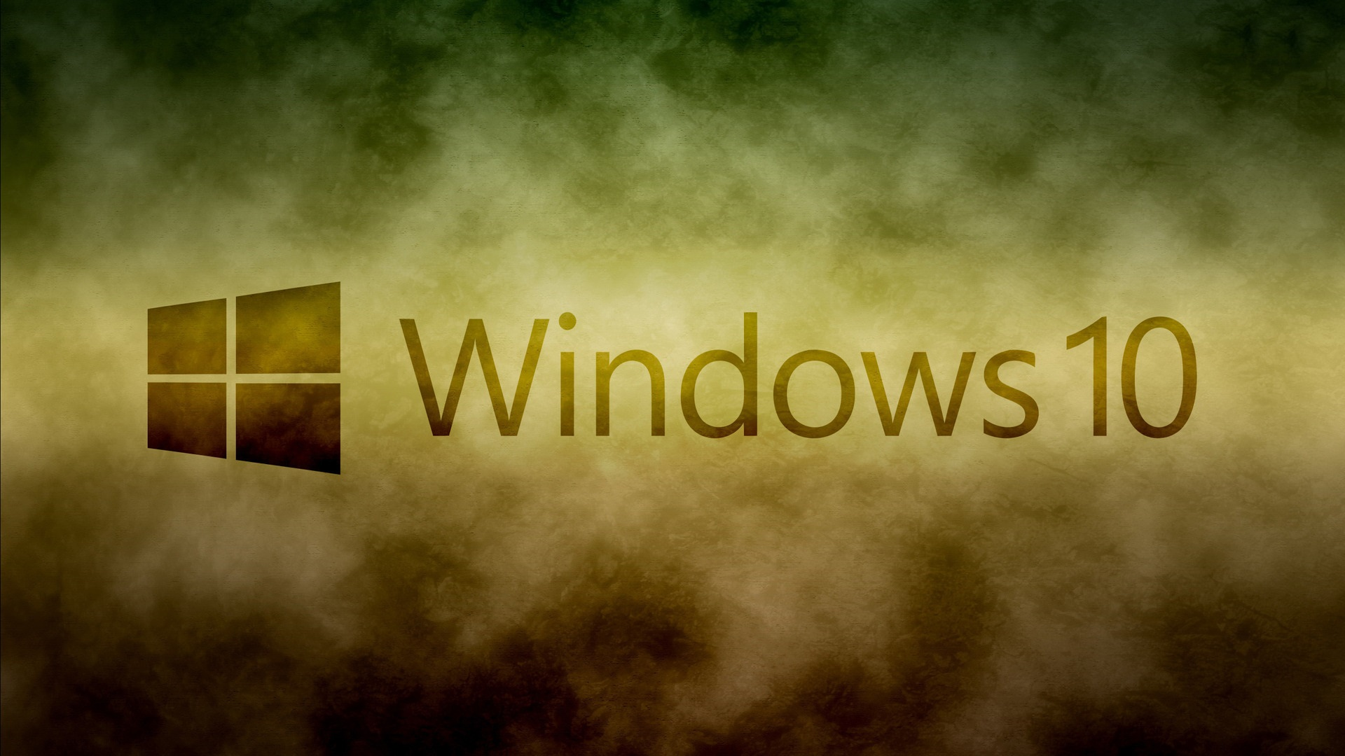 Wallpaper Windows 10 System Logo White Clouds Background