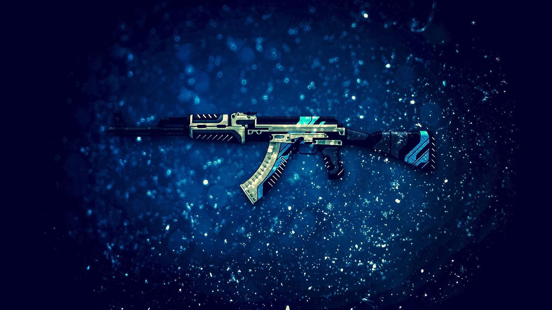 Wallpaper Ak 47 Assault Rifle Cs Go Pc Game 1920x1200 Hd Picture