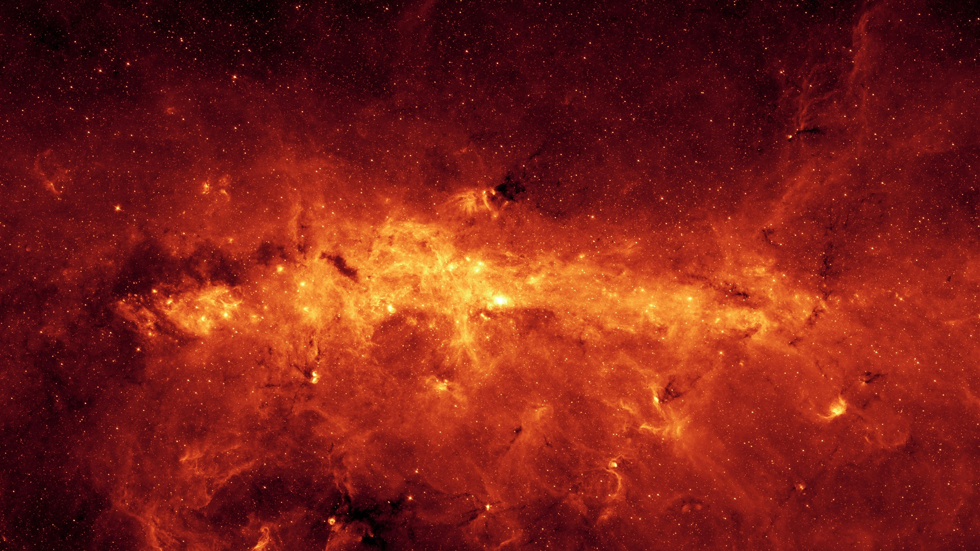 Wallpaper Space Red Stars Universe 3840x2160 Uhd 4k Picture Image