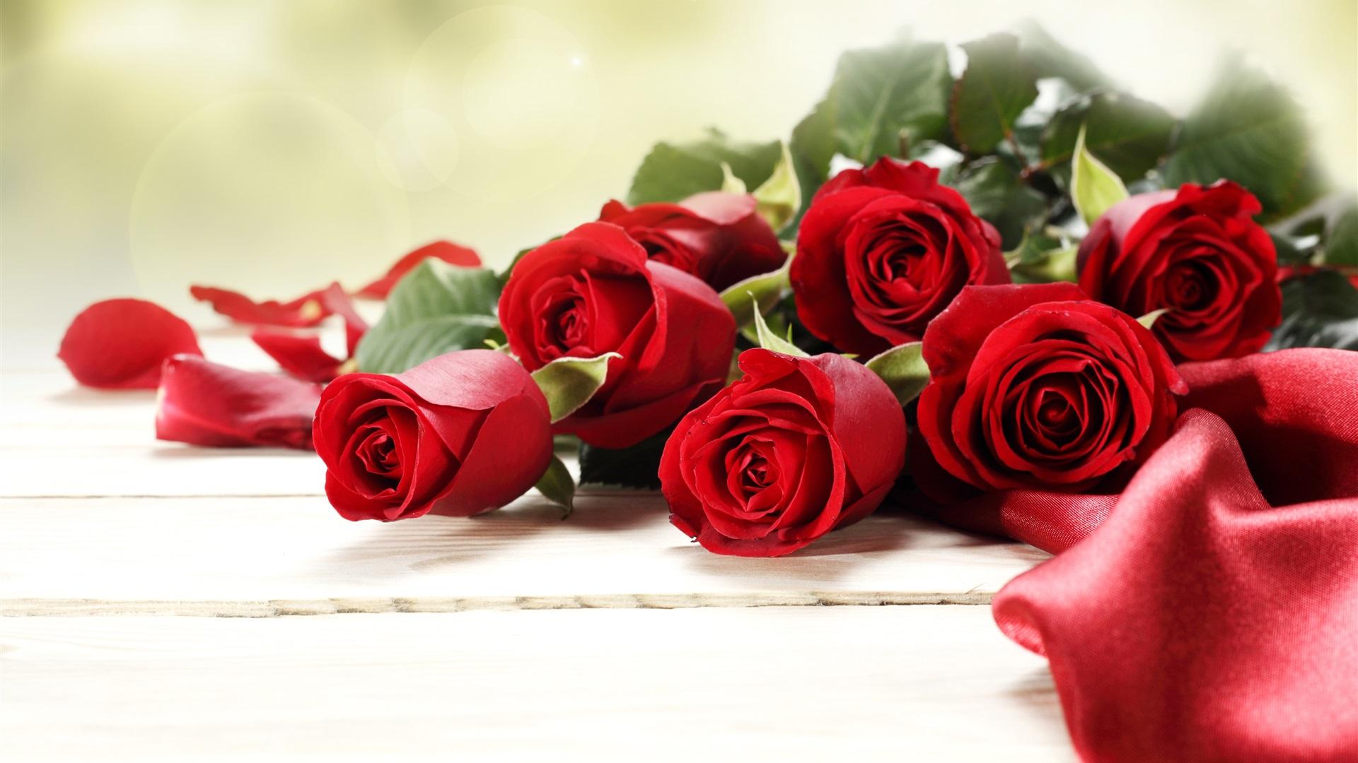 Red Rose Flowers Bouquet Romantic 1080x1920 Iphone 8 7 6 6s Plus