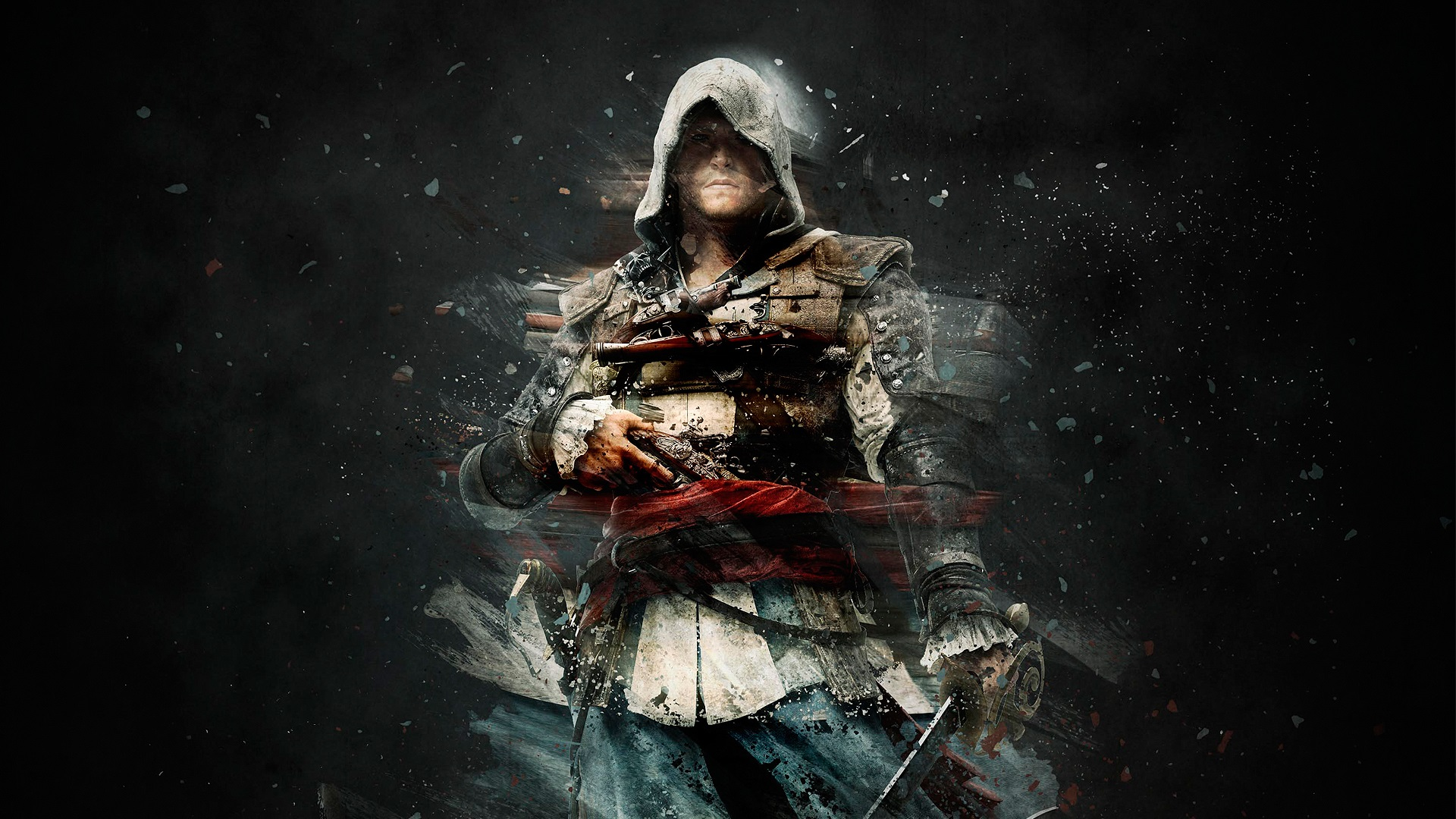 Assassin S Creed Black Background 640x960 Iphone 4 4s Wallpaper Background Picture Image