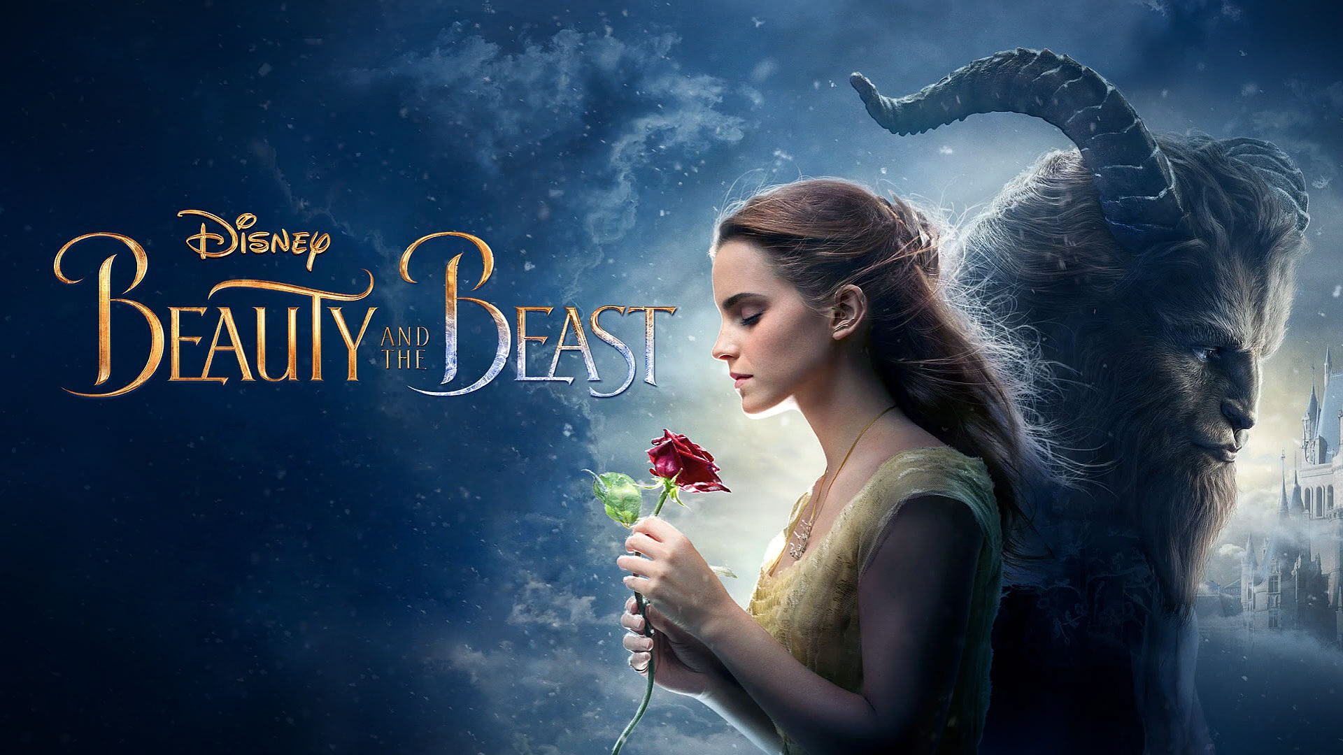 Wallpaper Beauty And The Beast Disney Movie 1920x1080 Full Hd 2k
