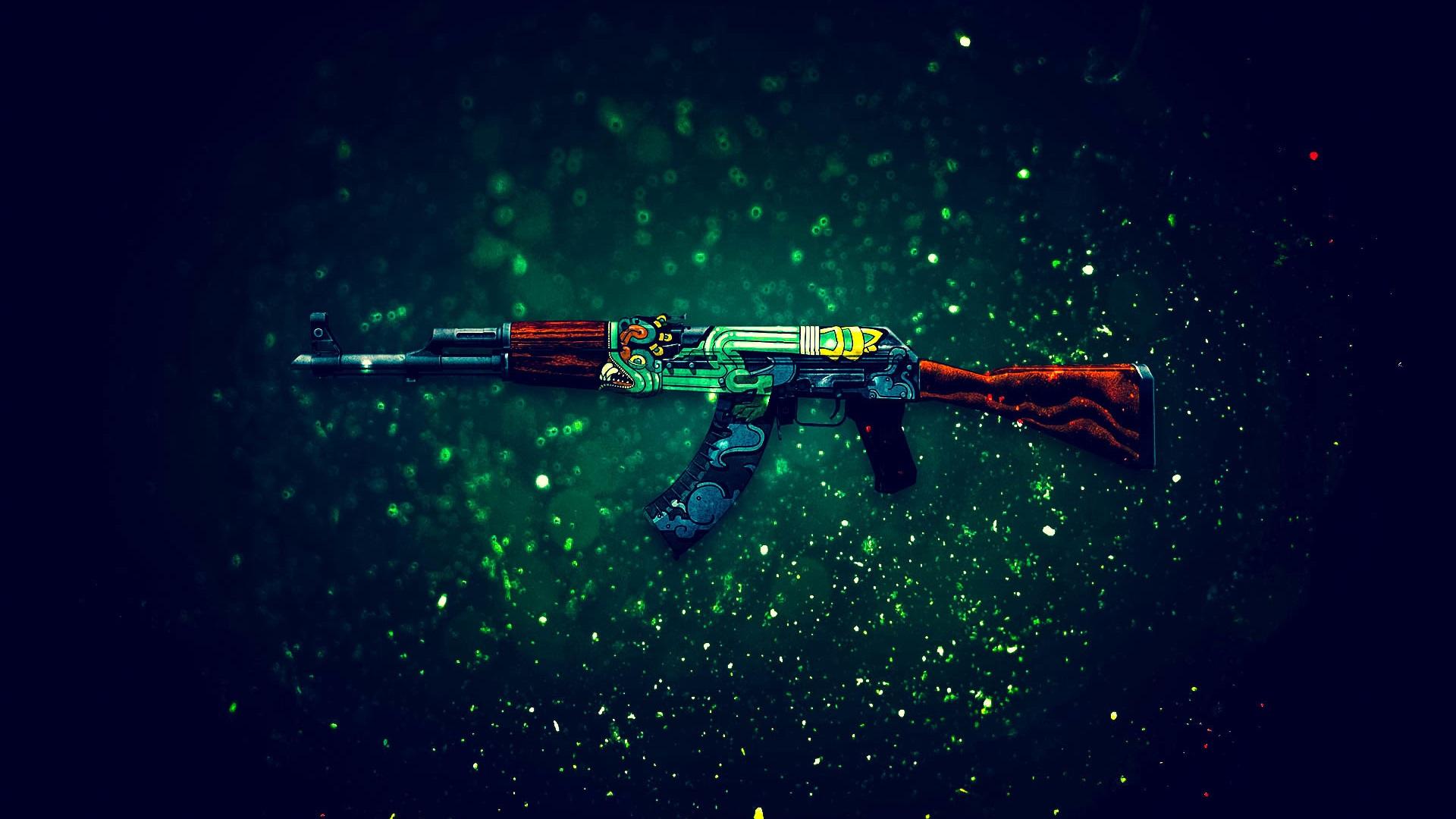 Cs Go Game Ak 47 Assault Rifle 640x1136 Iphone 5 5s 5c Se