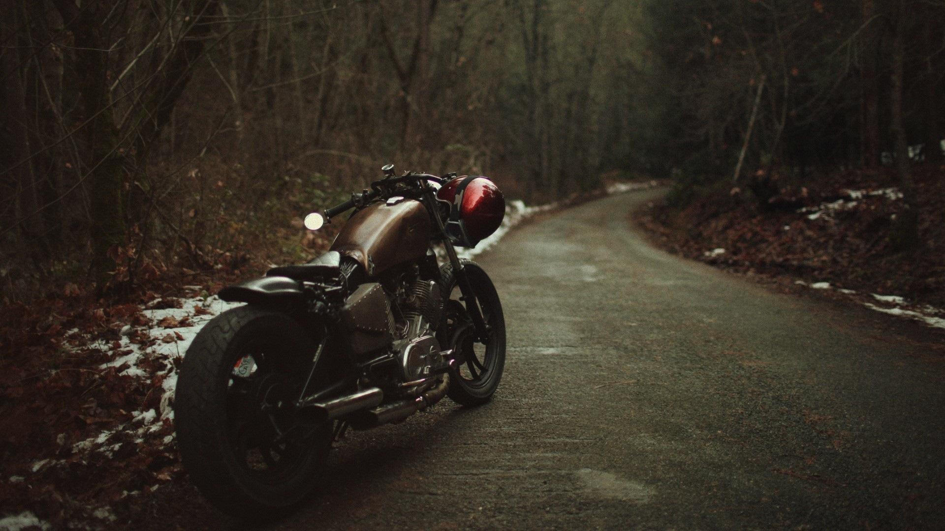 Fondos De Pantalla Bobber Moto 1920x1080 Full Hd 2k Imagen