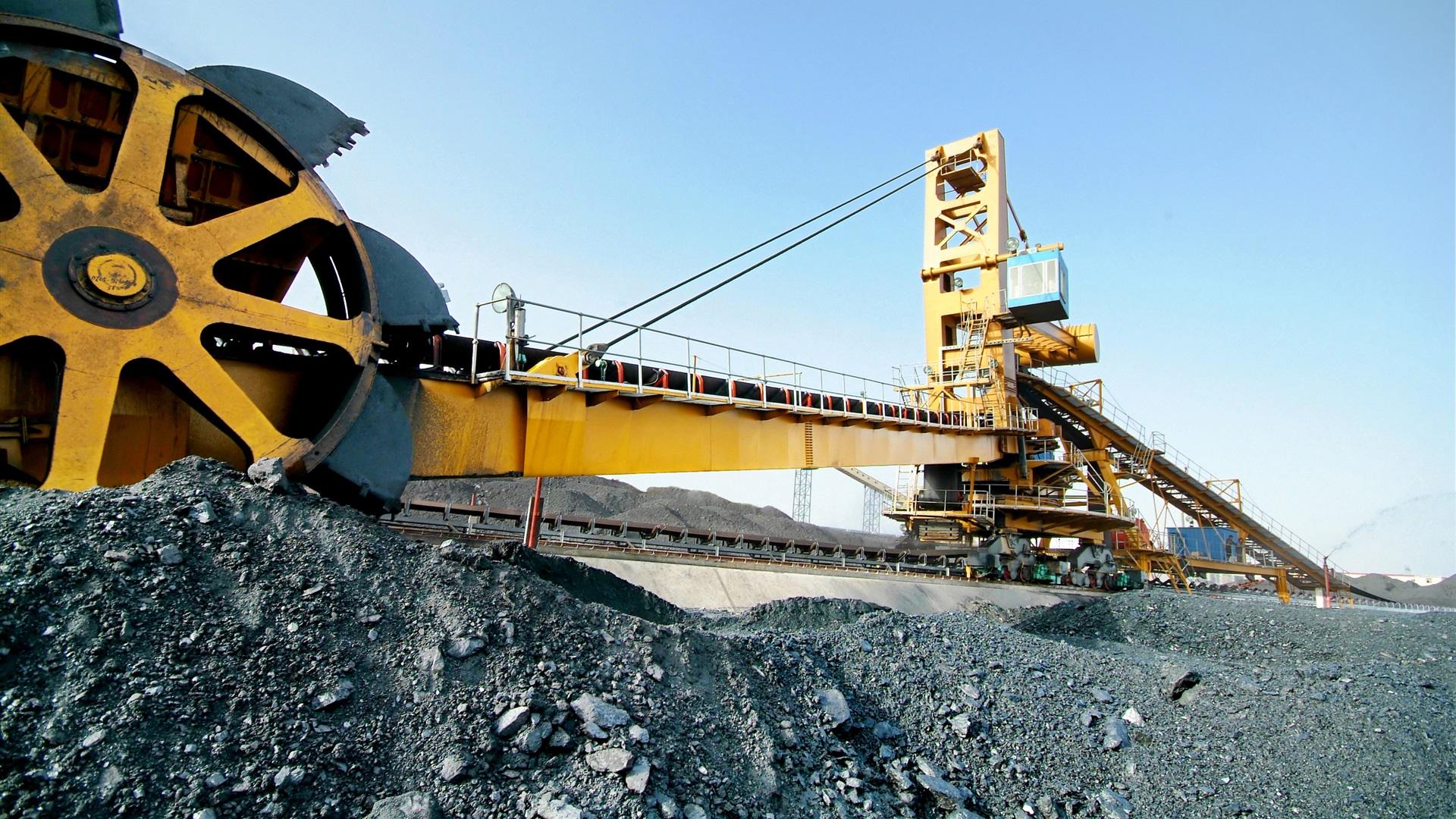 Pap is de parede engenharia transportadora minera o m quina enorme 2880x1800 hd imagem - Mining images hd ...