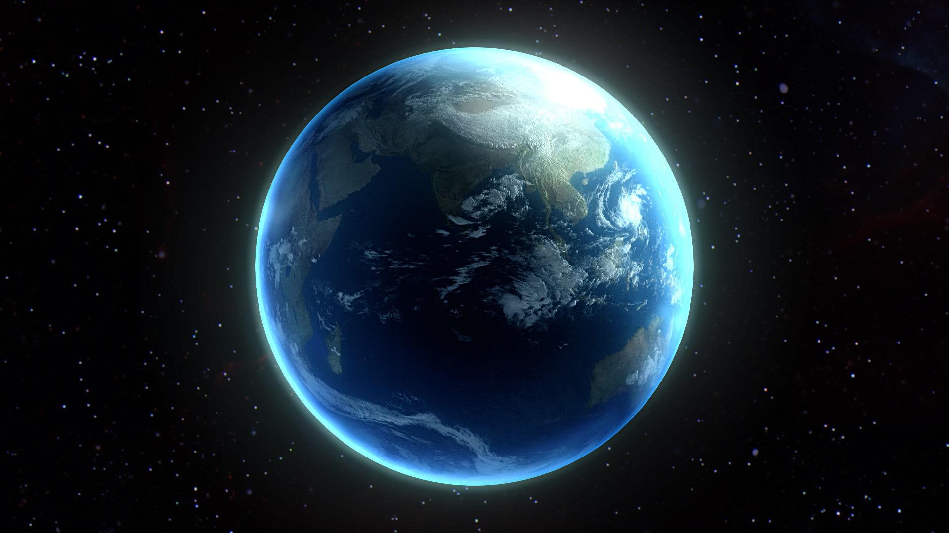 wallpaper beautiful planet, earth, space 1920x1080 full hd 2k