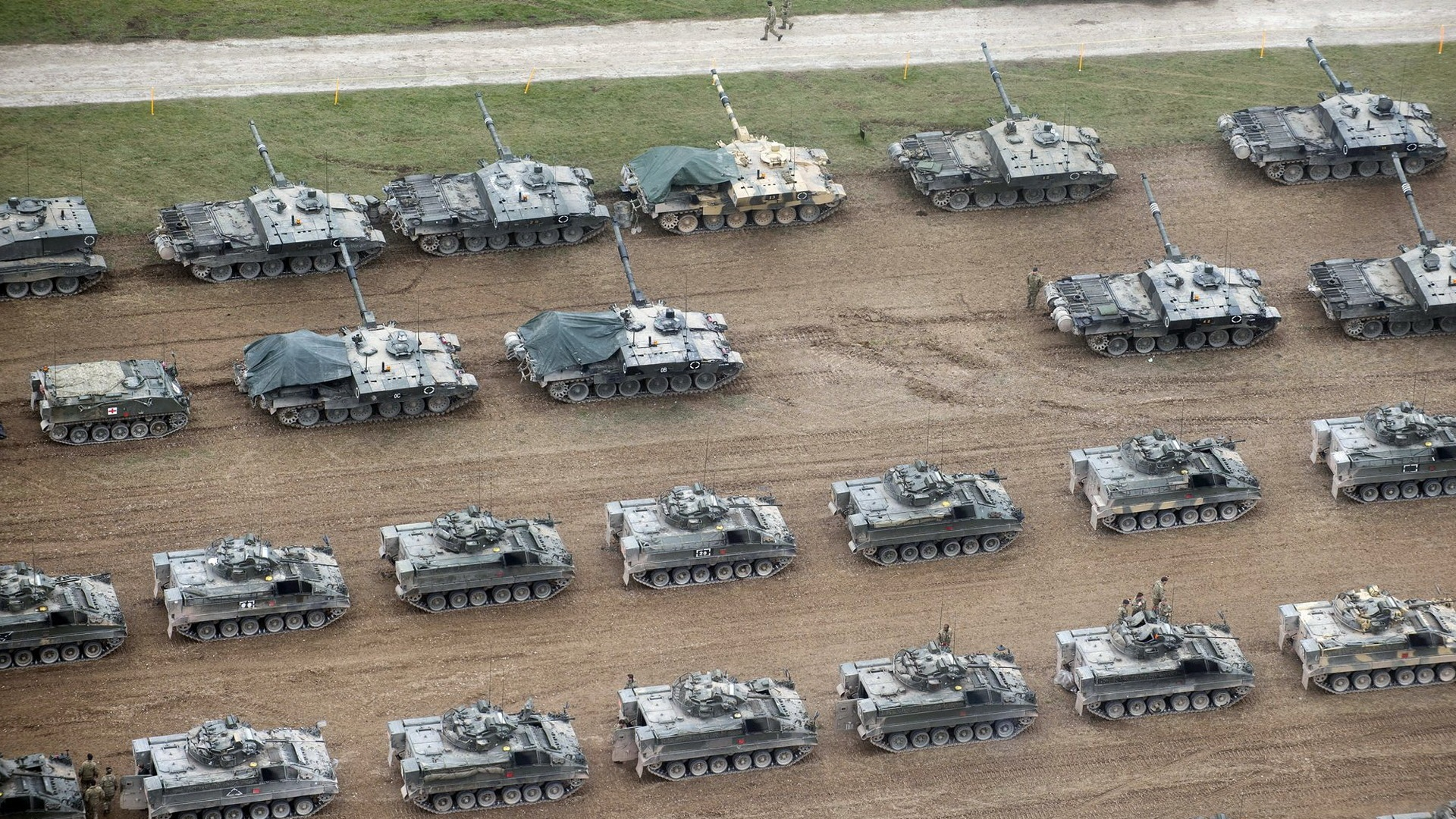 wallpaper many tanks british army 1920x1080 full hd 2k picture image