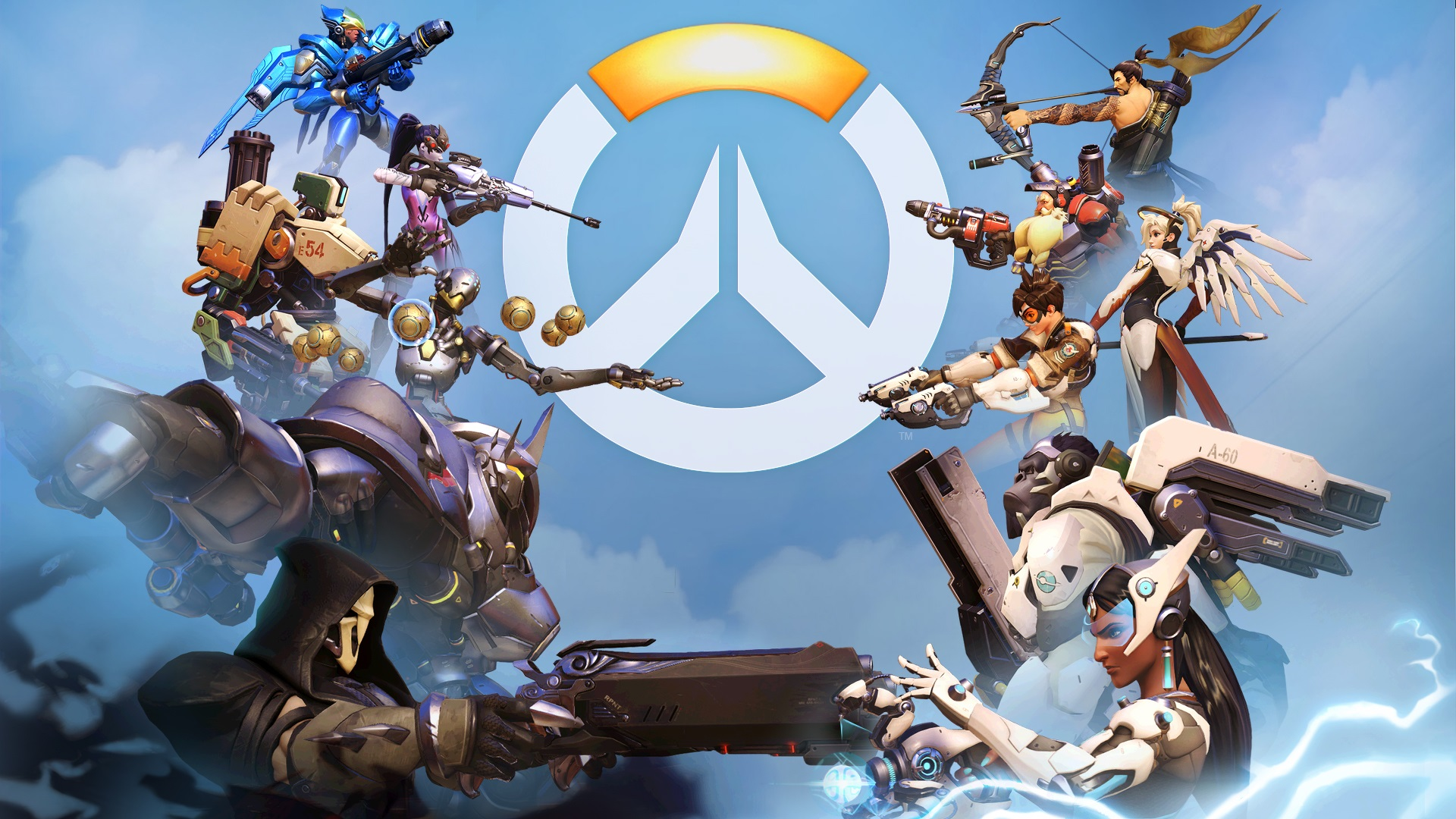 Wallpaper Overwatch Popular Pc Games 1920x1080 Full Hd 2k Picture