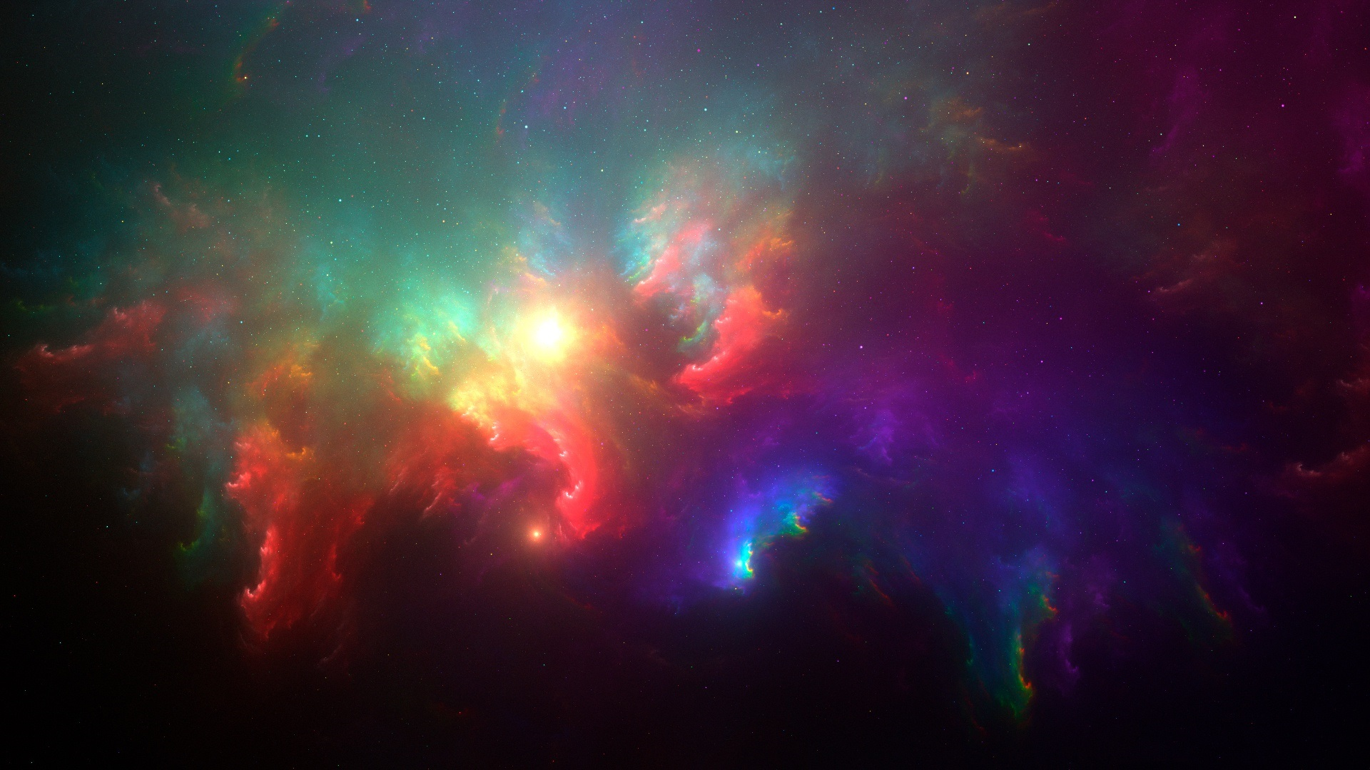 Wallpaper Beautiful Space Stars Galaxy 1920x1080 Full Hd