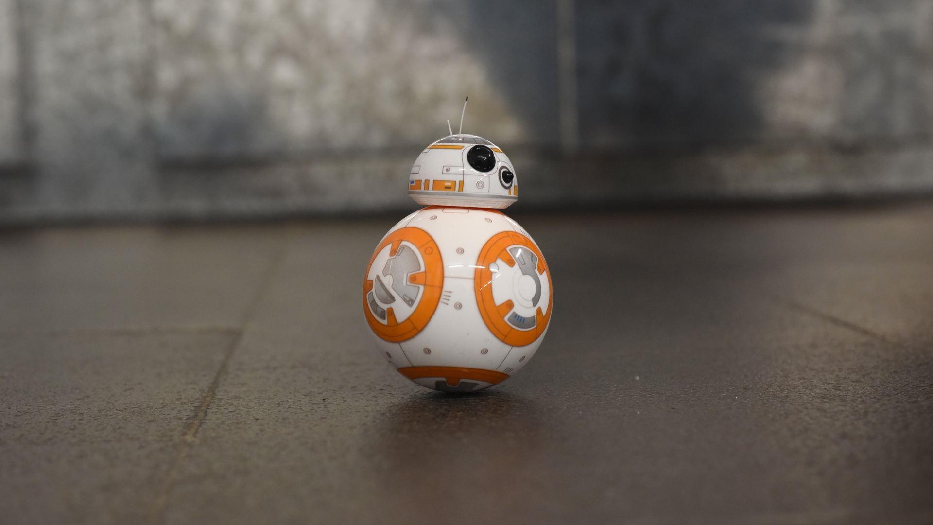 Wallpaper Bb8 Robot Toy Star Wars 1920x1080 Full Hd 2k