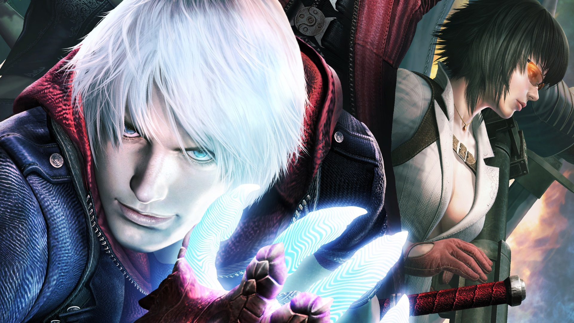 Wallpaper Devil May Cry 4 Special Edition 1920x1080 Full Hd 2k