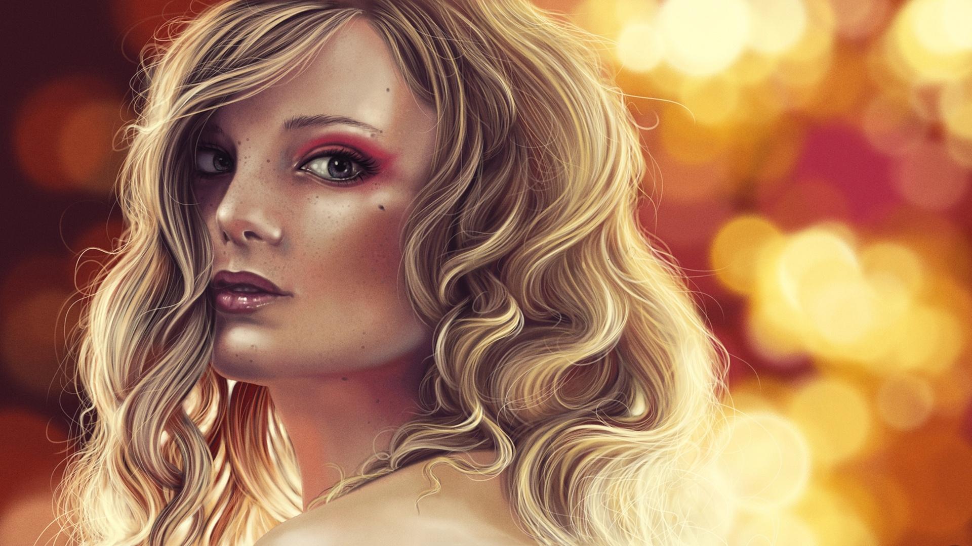 Картинки злая блондинка