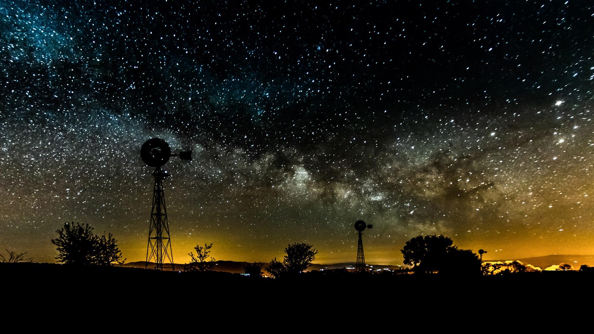 Fondos De Pantalla Noche, Cielo, Estrellas, Estrellado