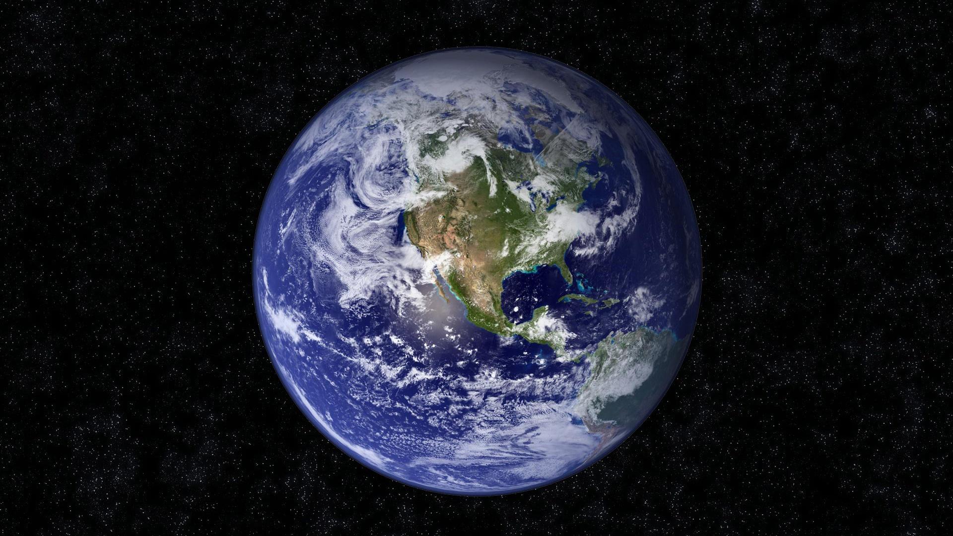 Fondos De Pantalla Planeta Tierra Nubes Continentes