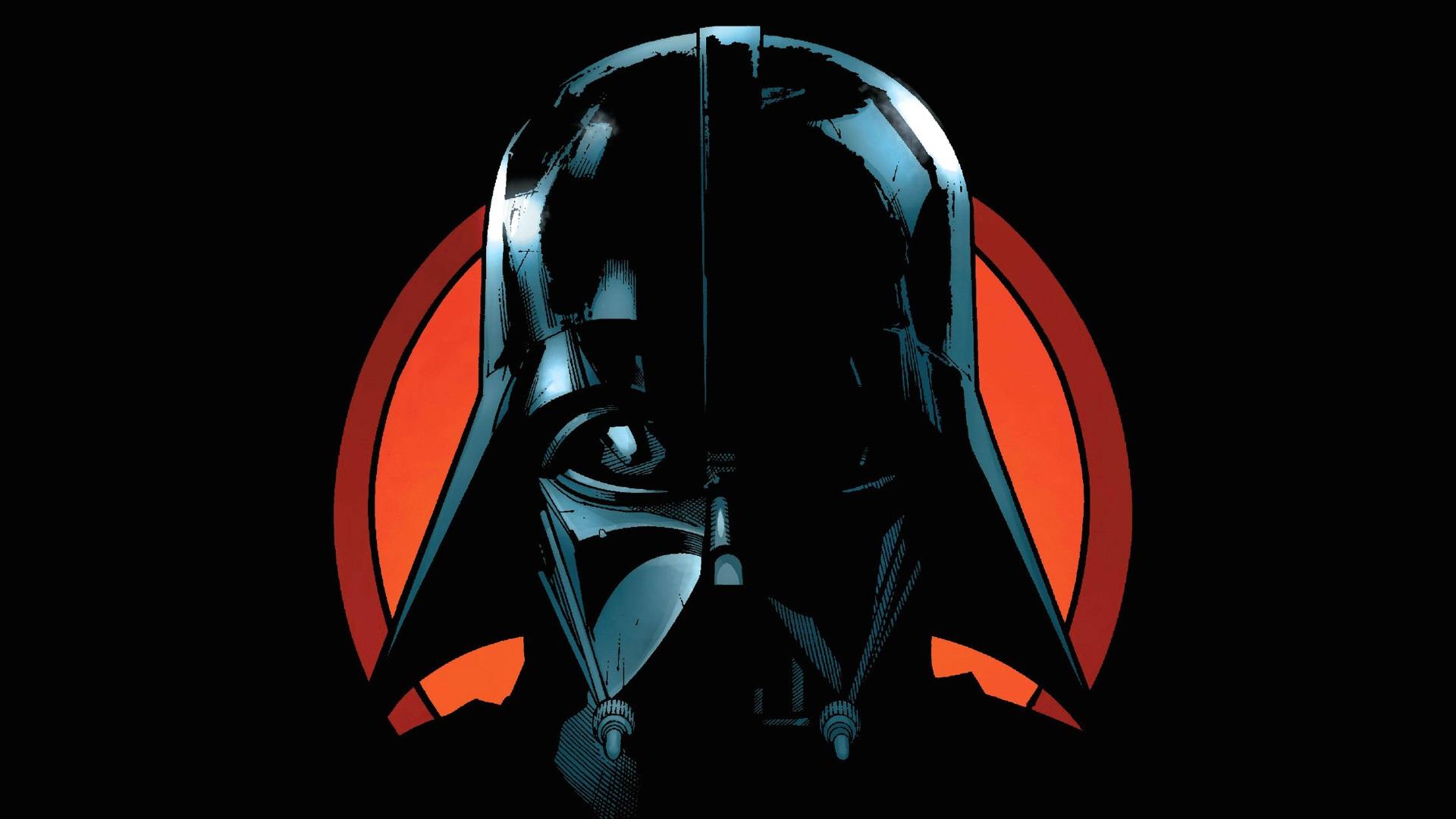 Wallpaper Star Wars, Darth Vader, art picture 1920x1080 Full