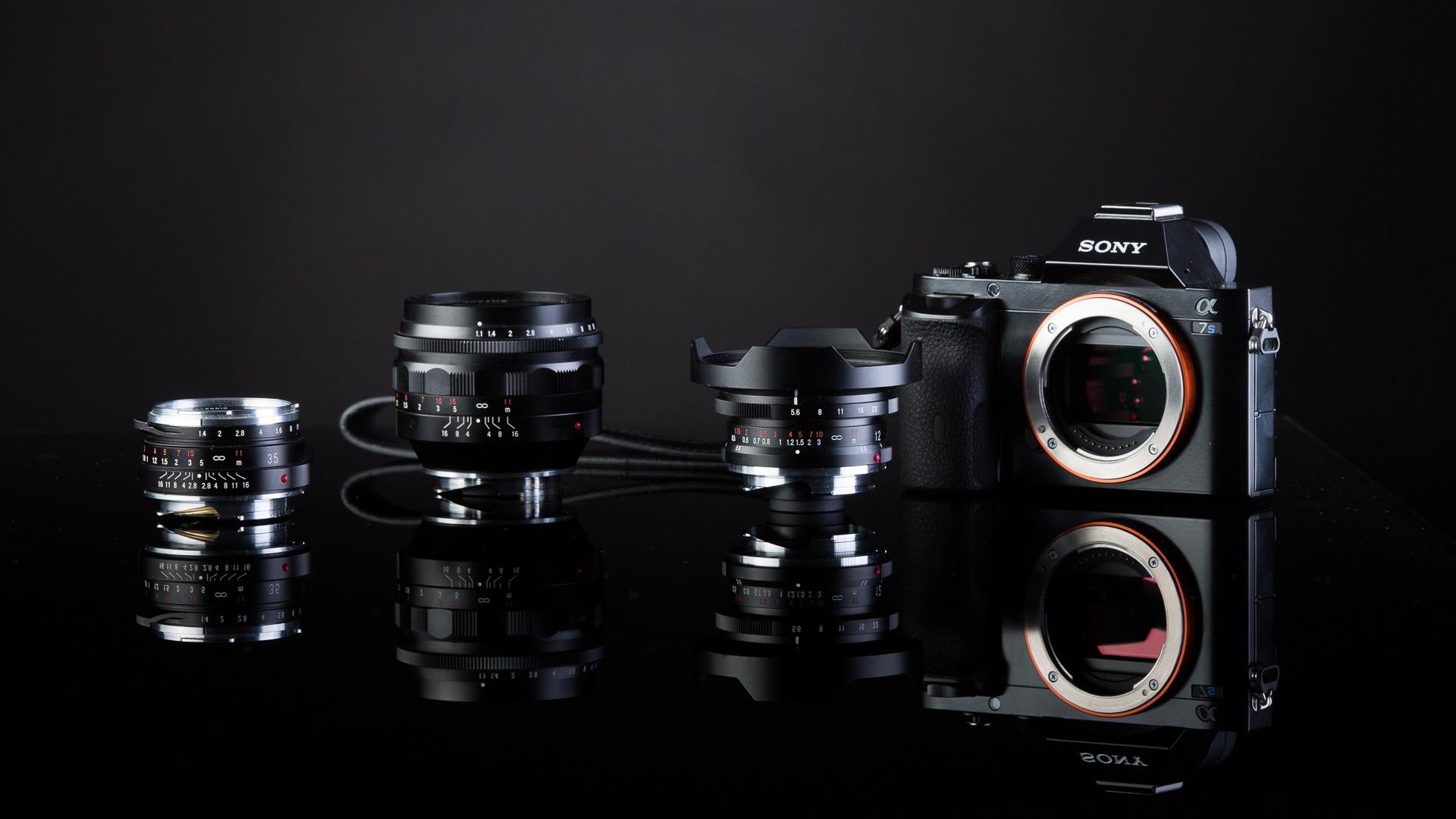 Fonds d 39 cran sony a7s appareil photo num rique objectif for Ecran photo sony