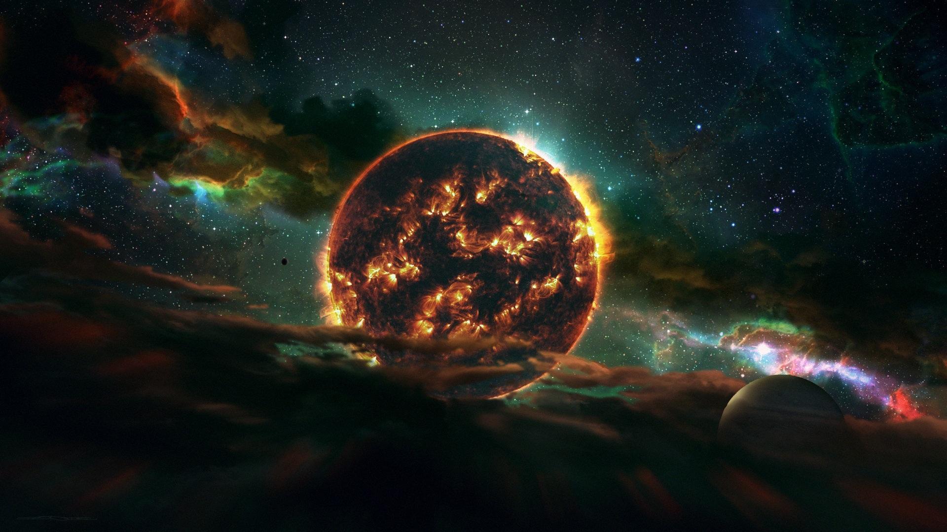 Fonds d'écran Dead Star, espace, planète, univers 1920x1080