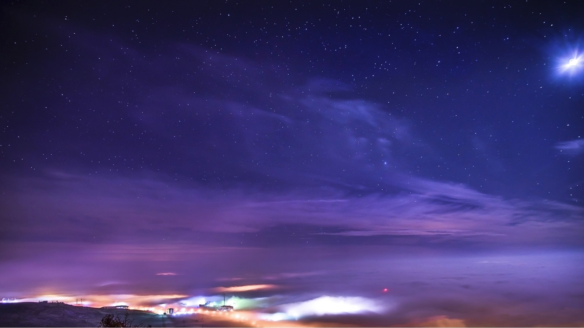 壁紙 星空 夜 星 自然 19x1080 Full Hd 2k 無料のデスクトップの背景 画像