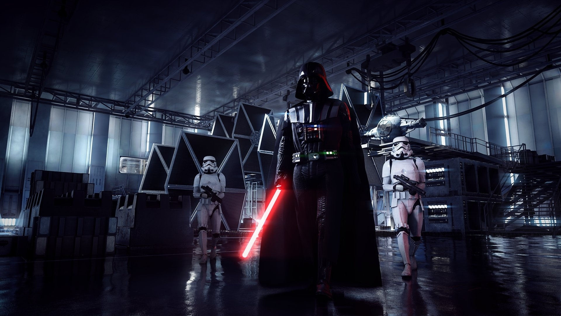 Fonds Décran Star Wars Battlefront Ii Dark Vador Sabre