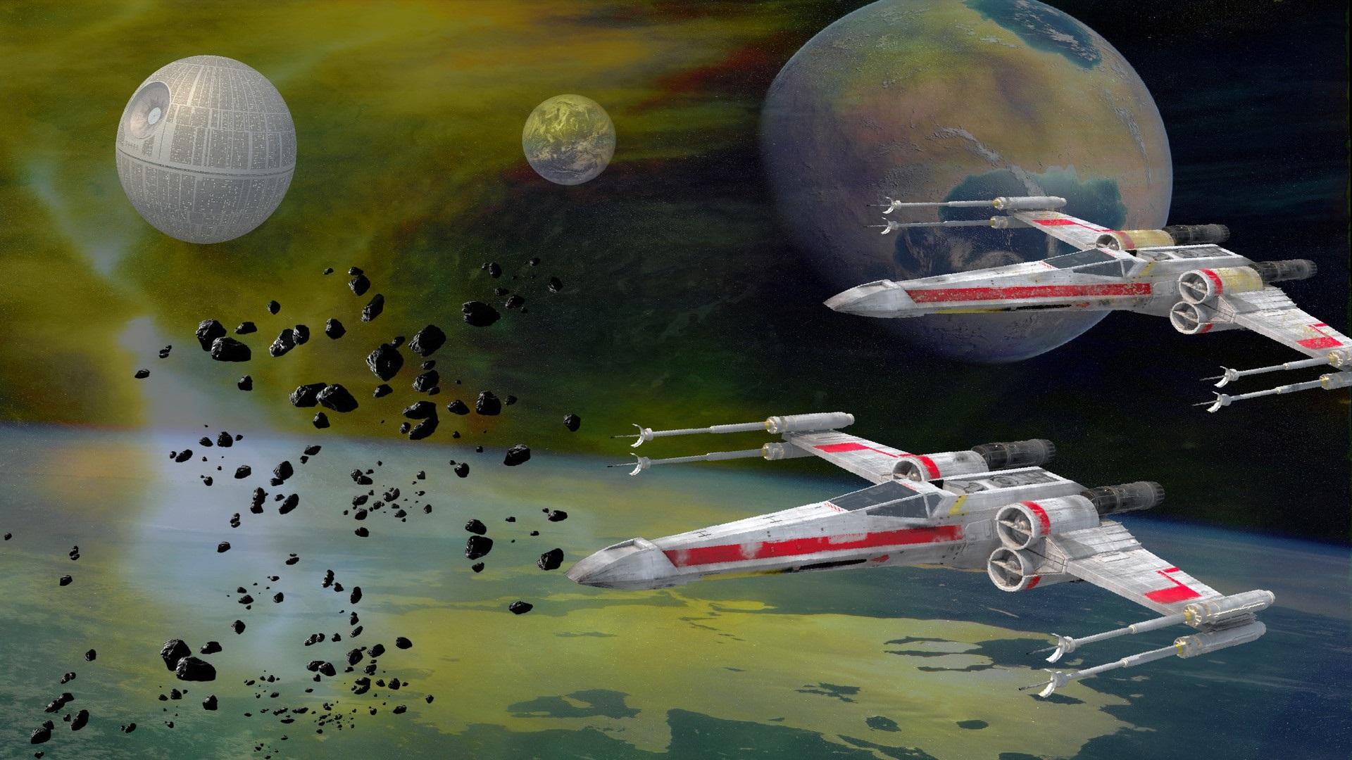 Papeis De Parede Star Wars Nave Espacial Espaco Estrela Da