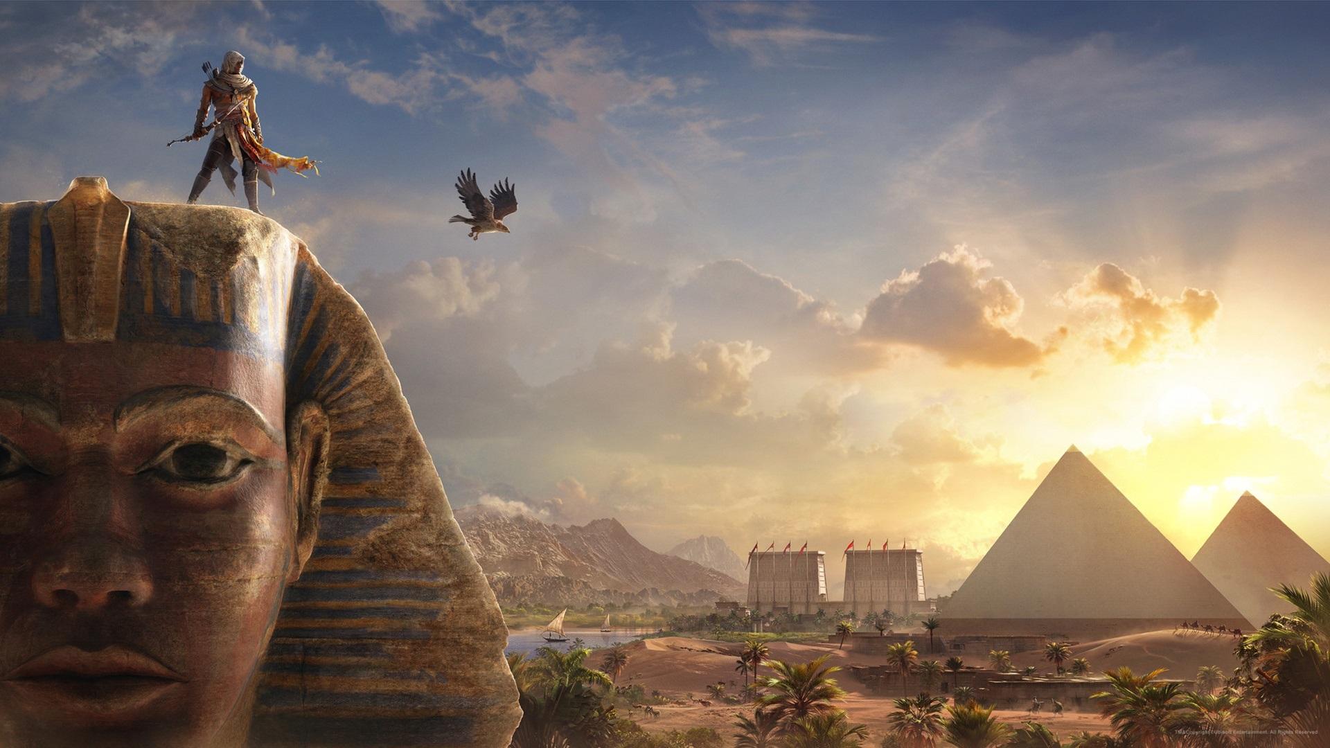 Wallpaper Assassin S Creed Origins Sphinx Egypt 1920x1080 Full