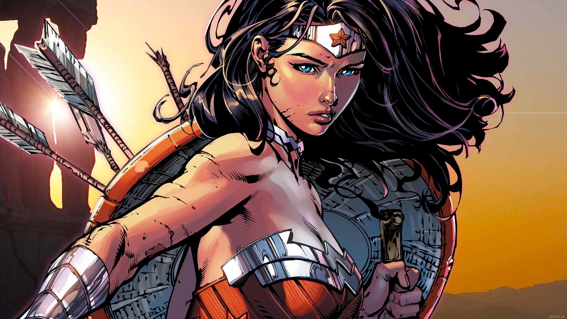 Fondos De Pantalla Wonder Woman Diana Imagen De Arte
