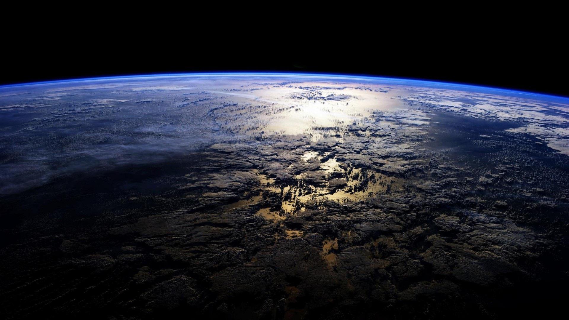 Fonds Décran Planète Terre Surface Atmosphère 1920x1080 Full Hd