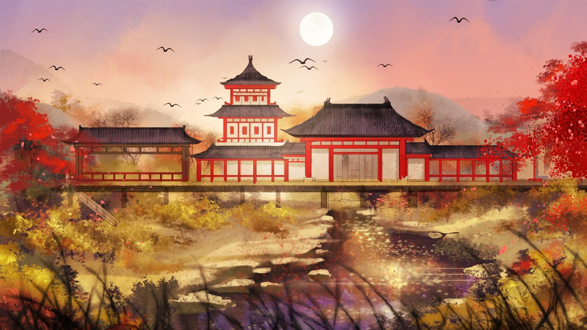 китайские рисунки и картинки фото конечно