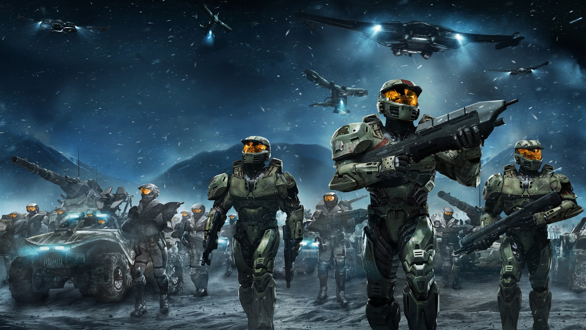 Wallpaper Halo Wars, Video Games 3840x2160 UHD 4K Picture
