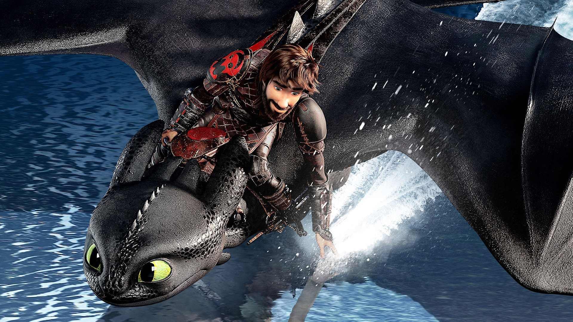 Wallpaper How To Train Your Dragon The Hidden World 1920x1080