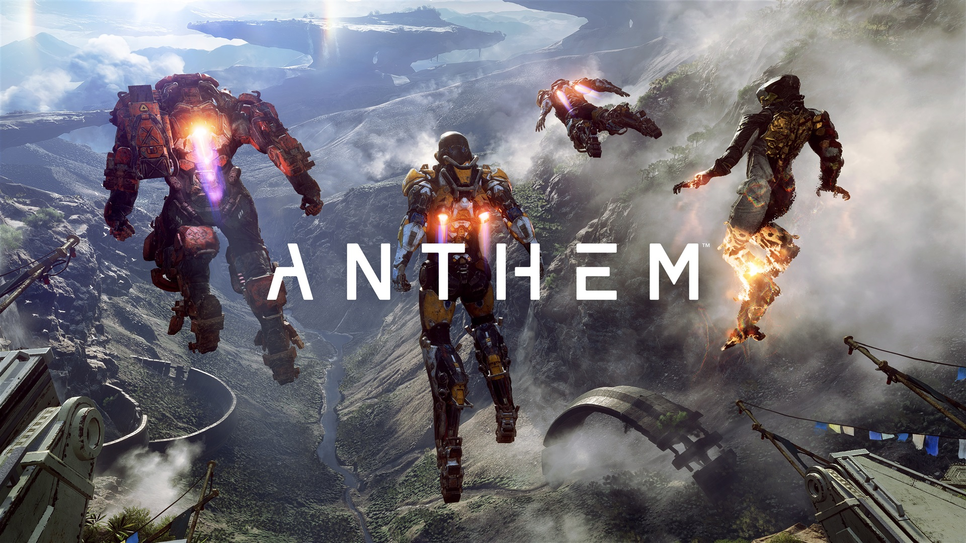 Wallpaper Anthem, Video Game, Robot, Action To Flying -3126