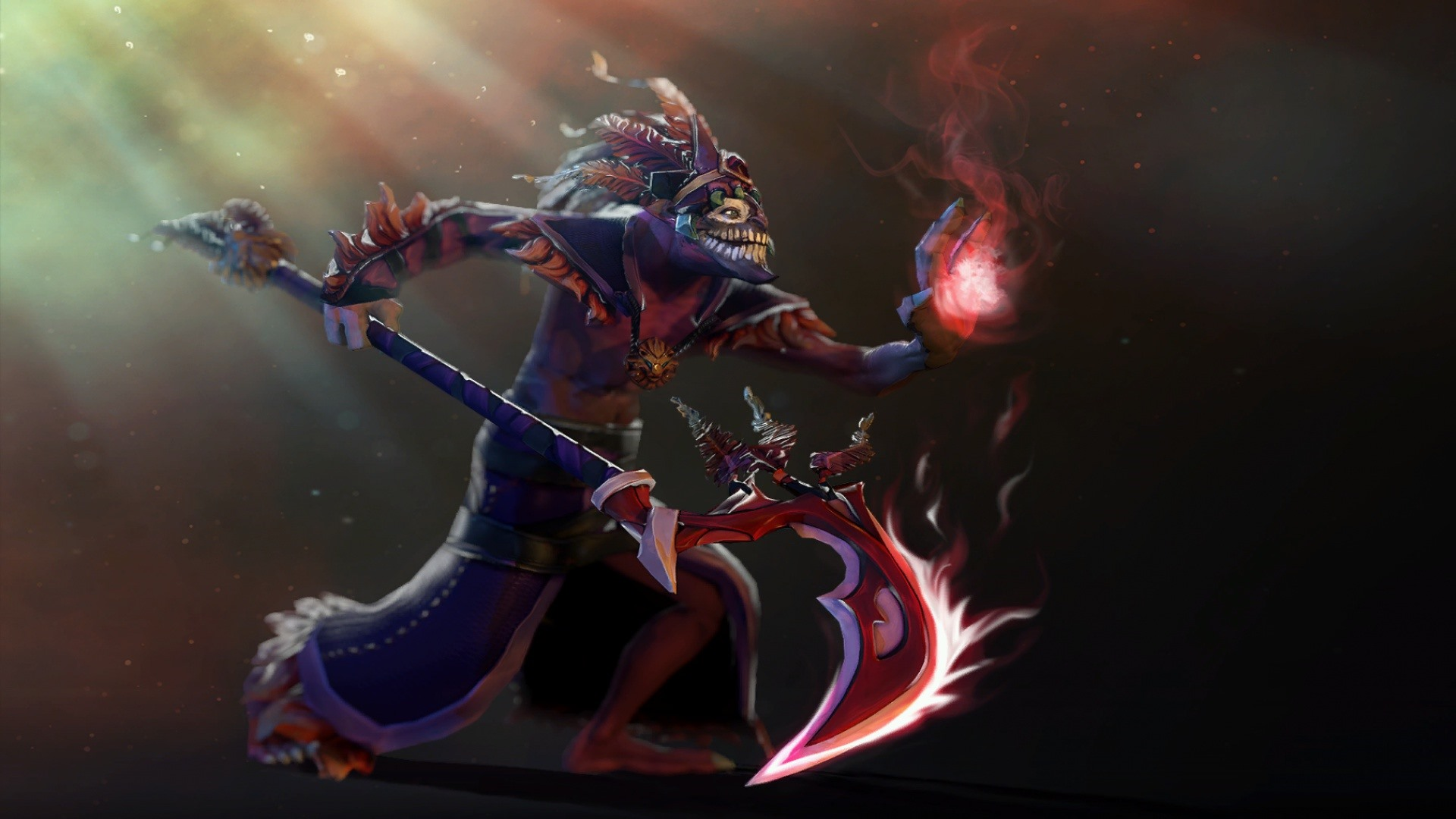 Dota 2 Priest Art Picture 640x960 IPhone 4 4S Wallpaper