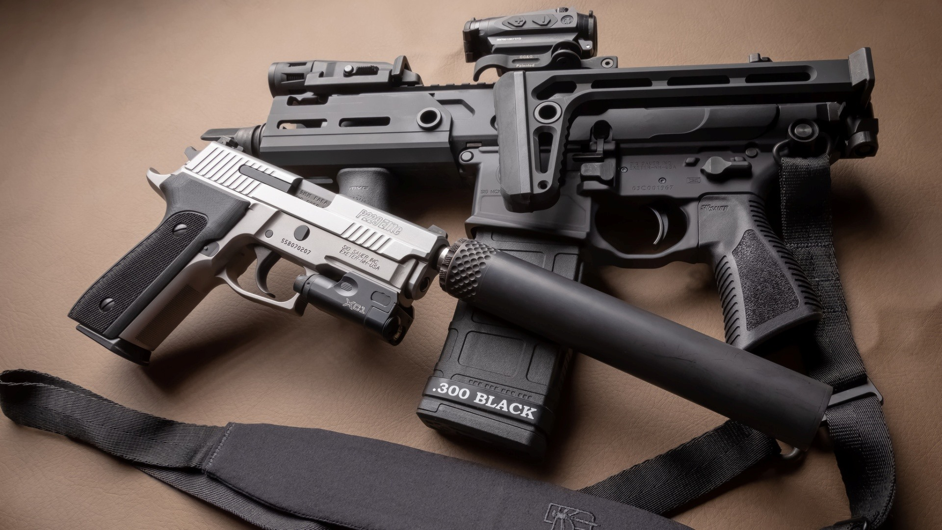壁紙 武器 銃 ピストル マフラー 1920x1080 Full Hd 2k 無料の