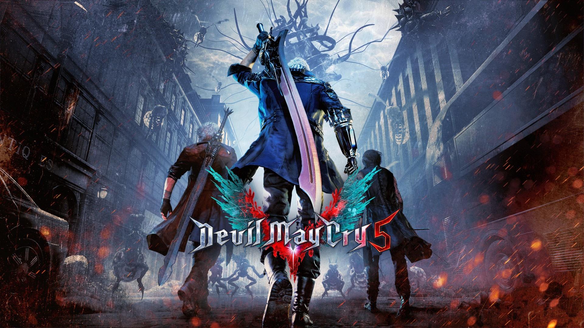 Wallpaper Devil May Cry 5 Video Game 1920x1080 Full Hd 2k