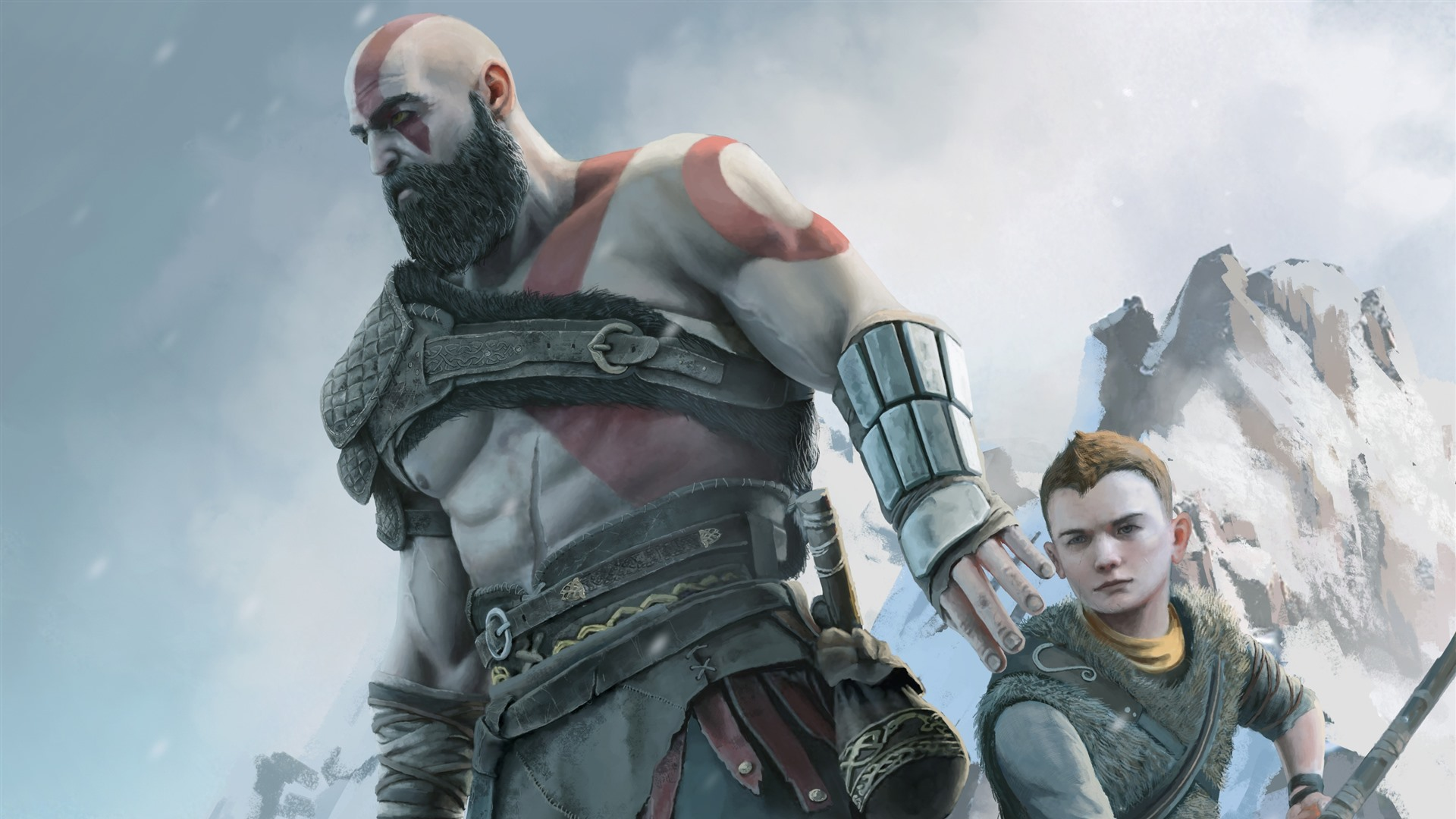 Wallpaper God Of War 4 Ps4 Game 2880x1800 Hd Picture Image