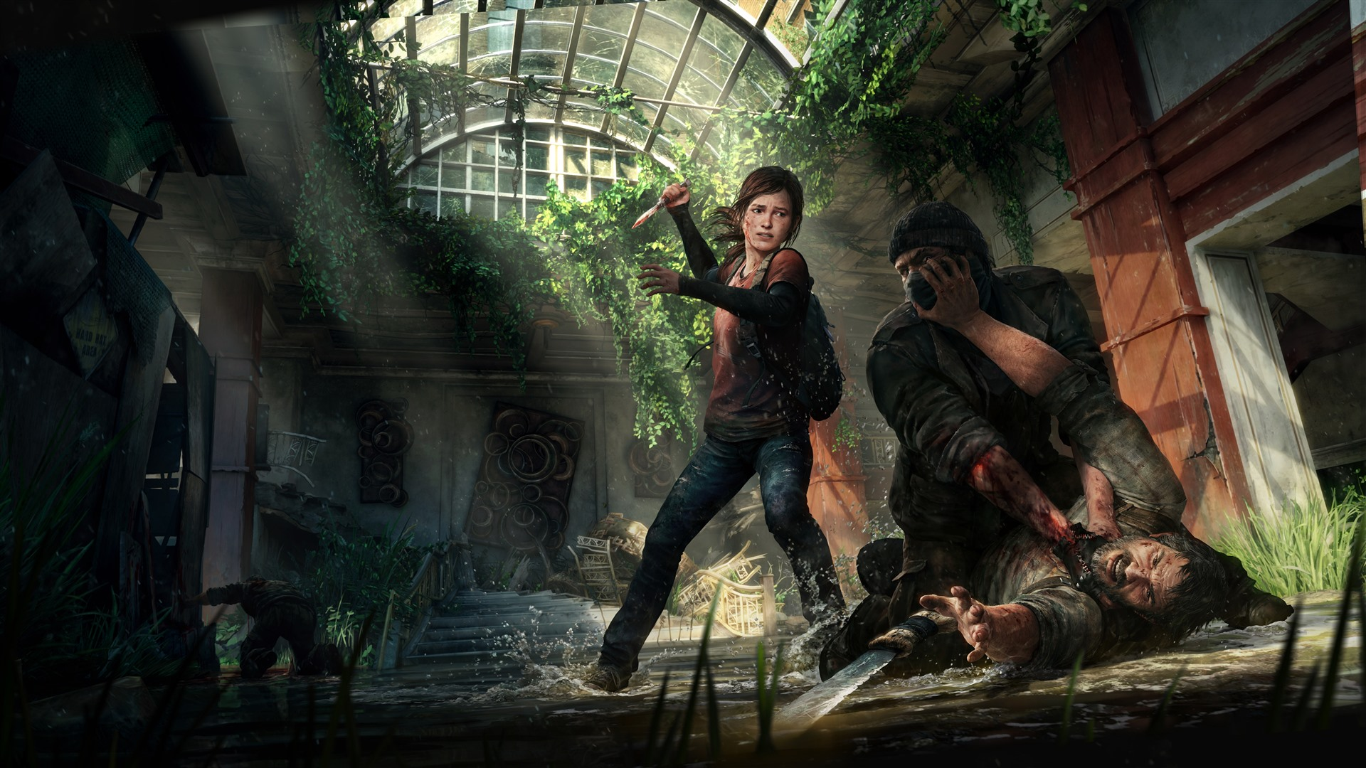 Wallpaper The Last Of Us Ellie Game 7680x4320 Uhd 8k