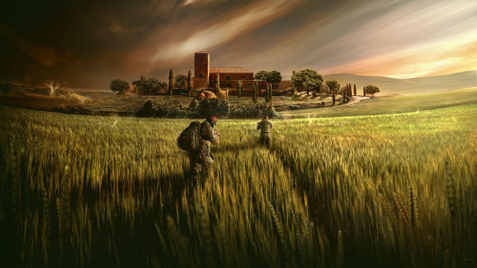 Fondos De Pantalla Rainbow Six Siege Campos Soldados