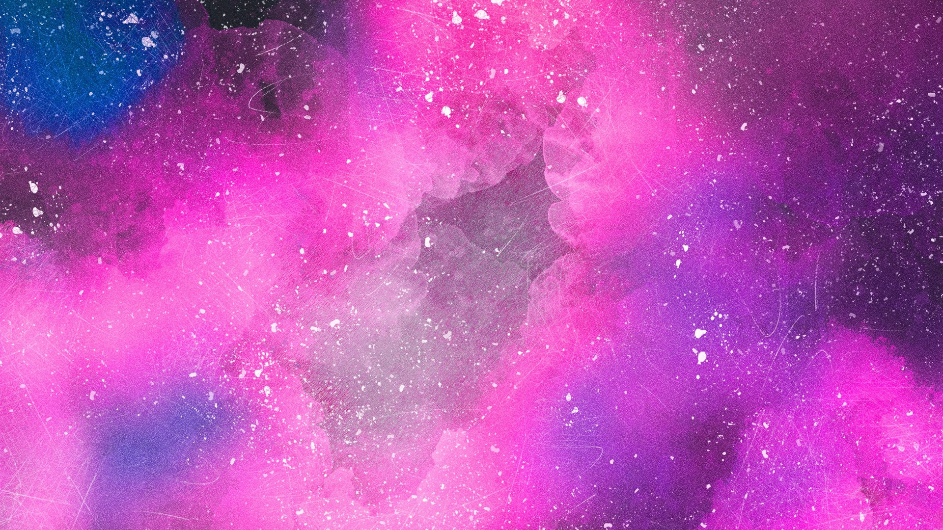 Wallpaper Pink space, clouds, abstract 2880x1800 HD ...