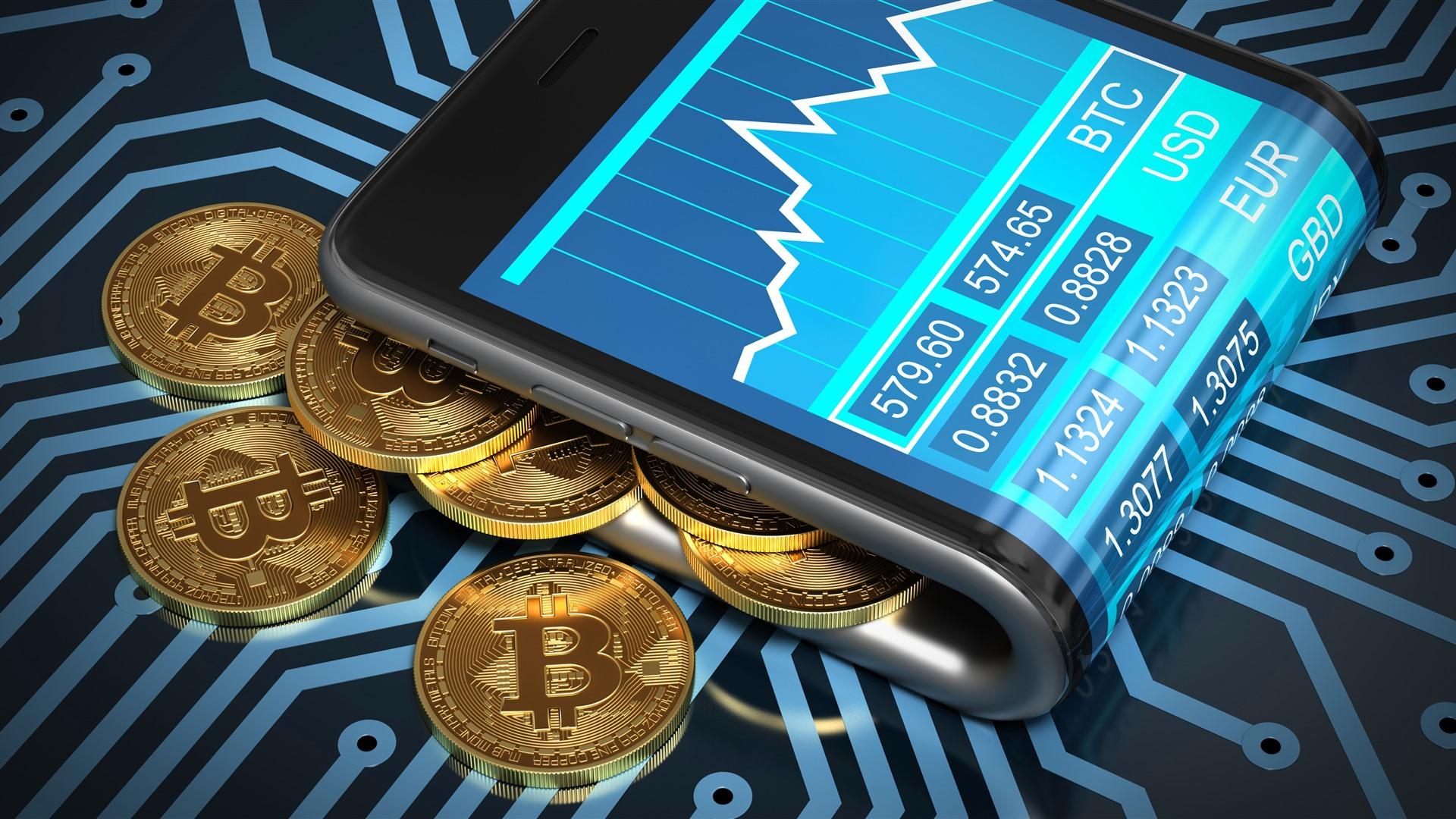 Wallpaper Bitcoin Currency Digital Money 3840x2160 Uhd