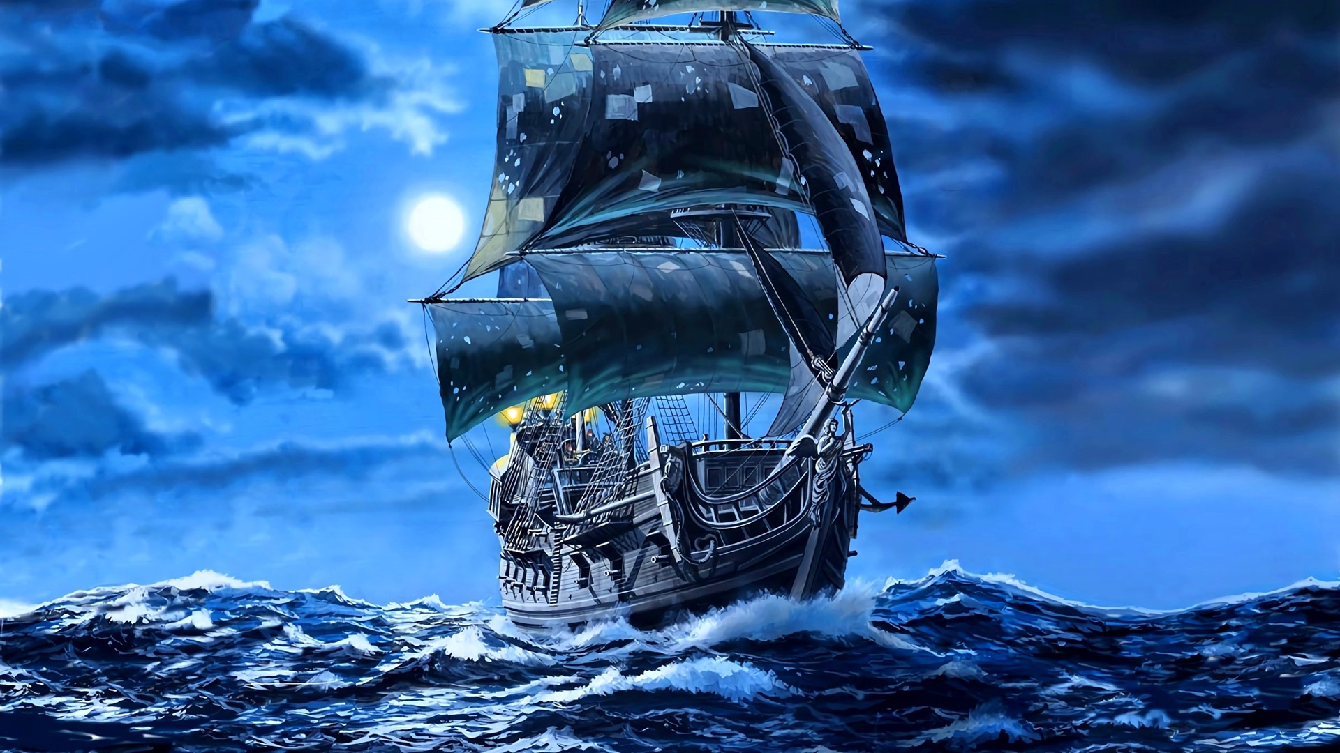 Black-pearl-sail-ship-pirates-sea-art-pi