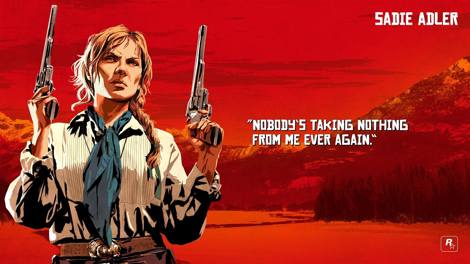 Fondos De Pantalla Red Dead Redemption 2 Pistolas 3840x2160