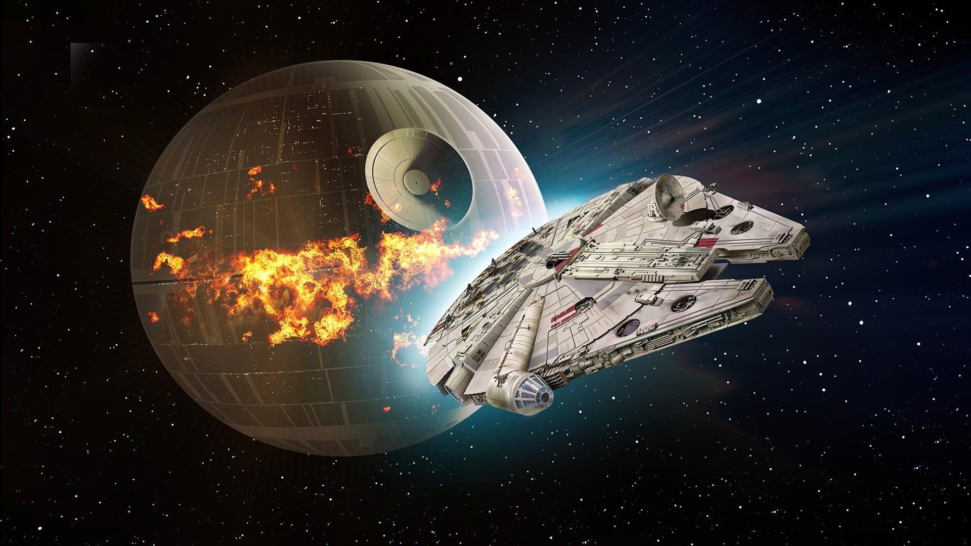 Wallpaper Star Wars Death Star Spaceship 1920x1200 Hd Picture Image
