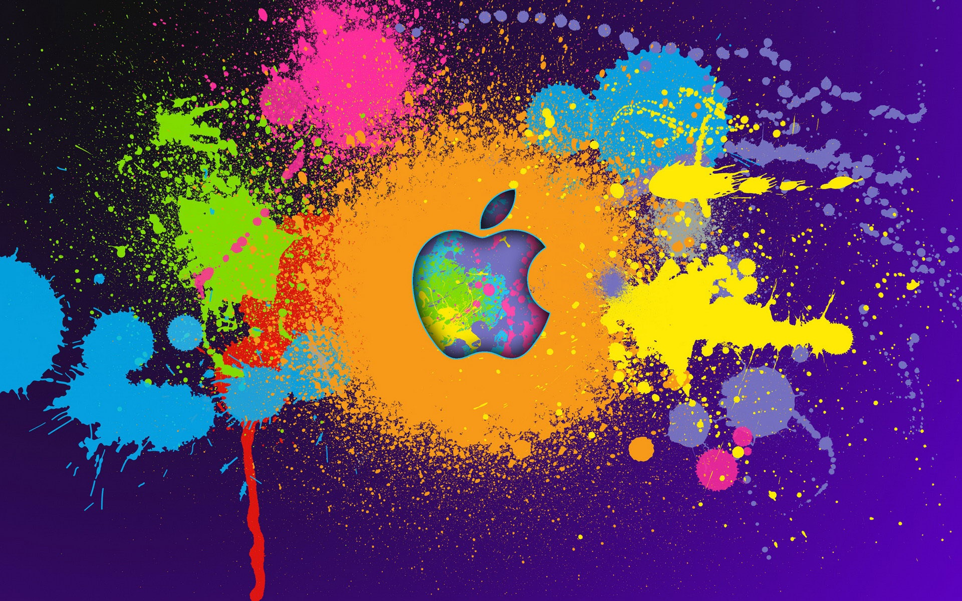 Hd Wallpapers Of Ipad A: Apple Malen Bunte 1920x1200 HD Hintergrundbilder, HD, Bild