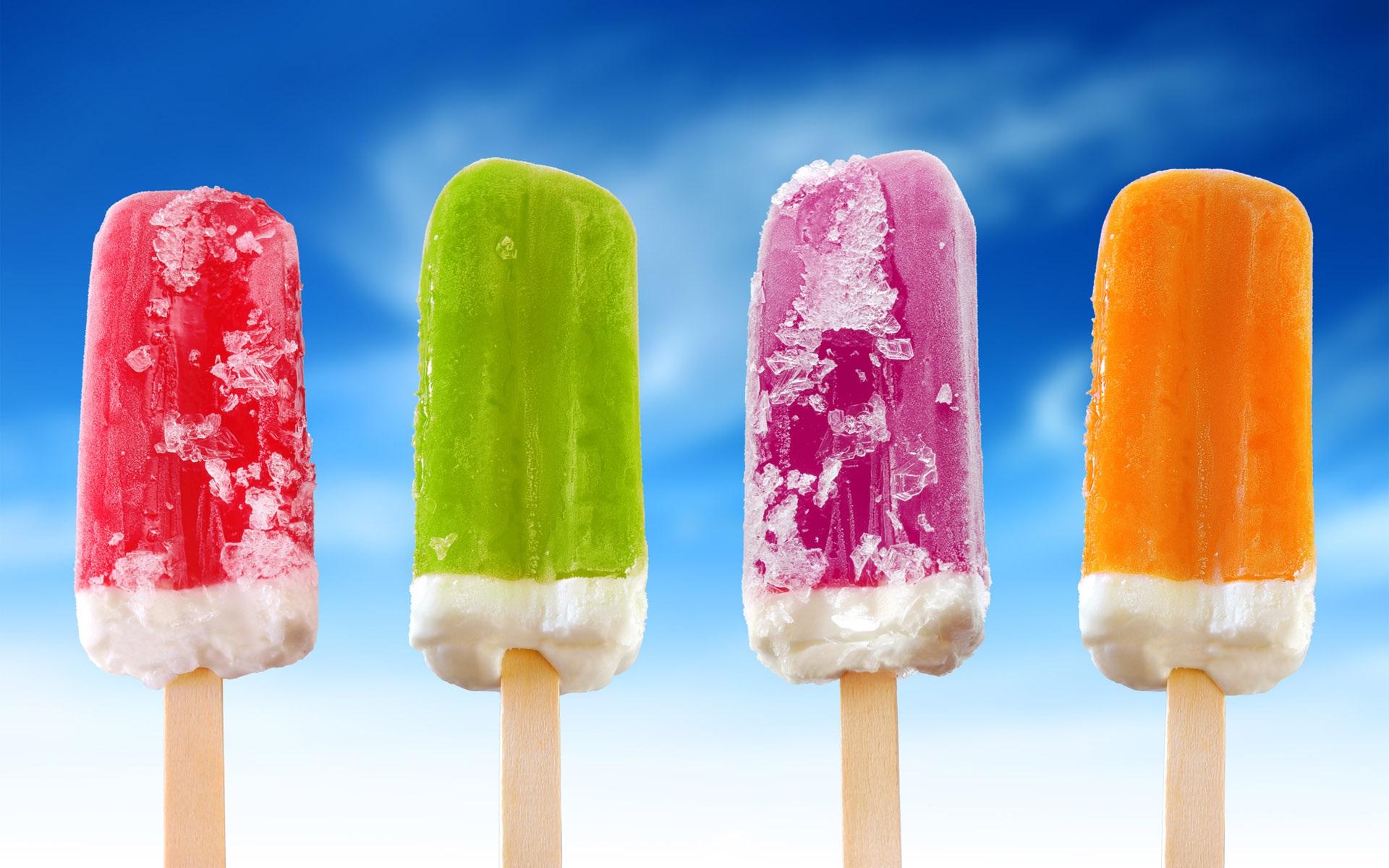 カラフルなアイスクリームアイスキャンデー 壁紙 - 1920x1200   カラフルなアイスクリ