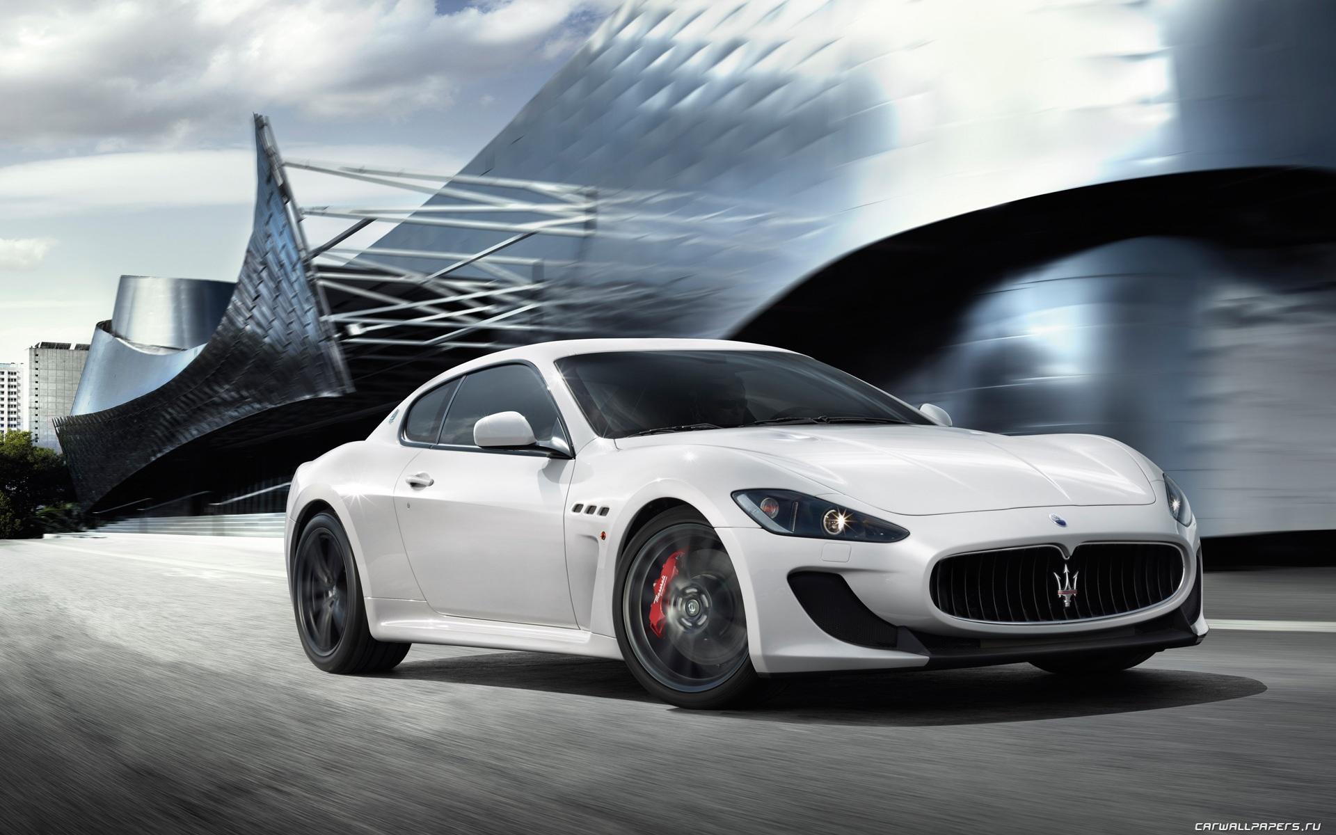 Maserati GranTurismo MC Stradale 2010 Обои | 1920x1200 ...