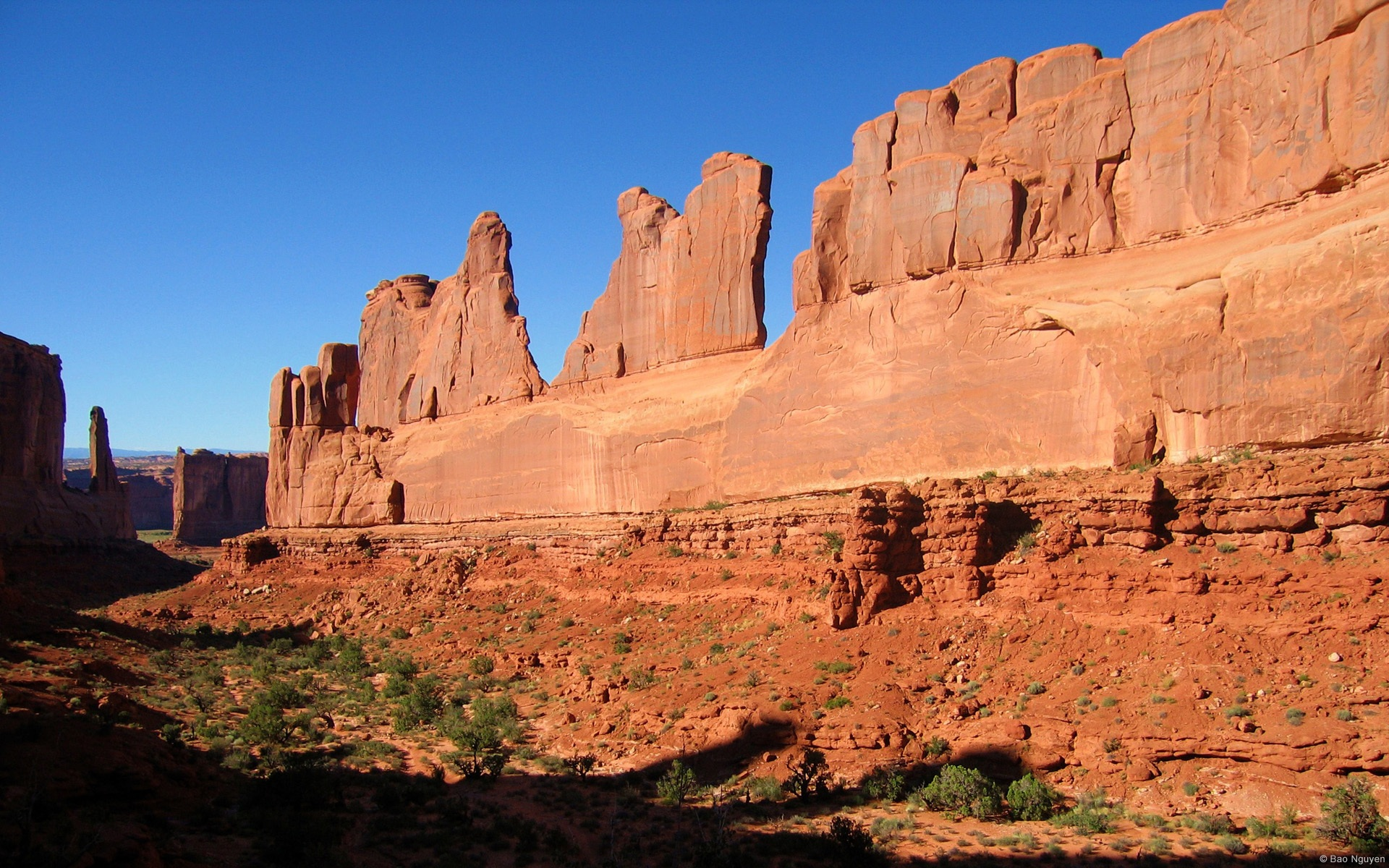 Wallpaper Arches National Park Utah 1920x1200 Hd Picture Image