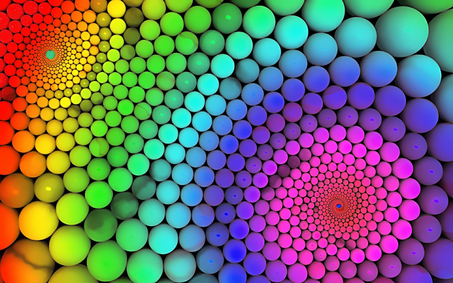 ボールの虹の色 壁紙 - 1920x1200   ボールの虹の色 壁紙