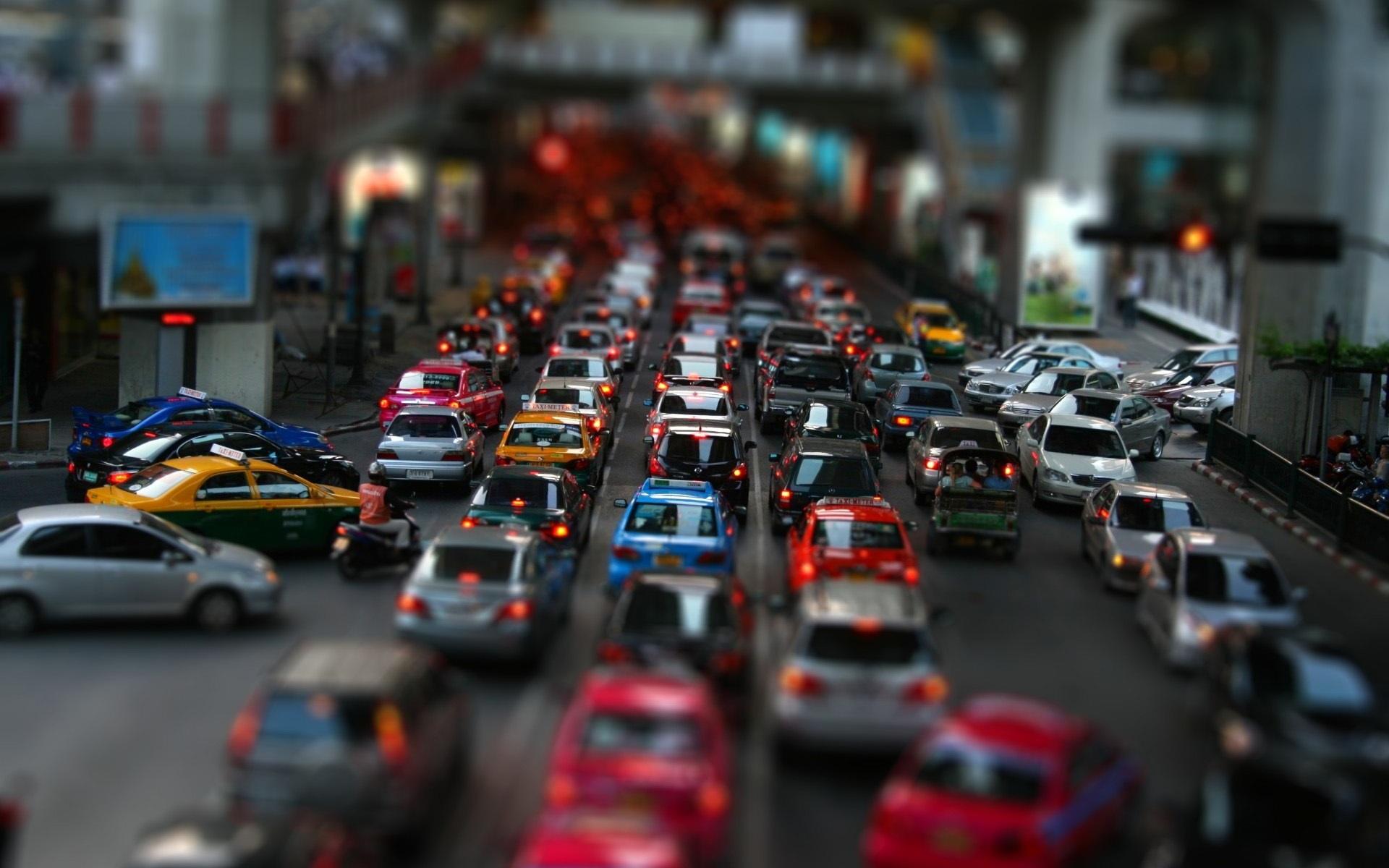 Download Wallpaper 1920x1200 Street Car Traffic Jam HD